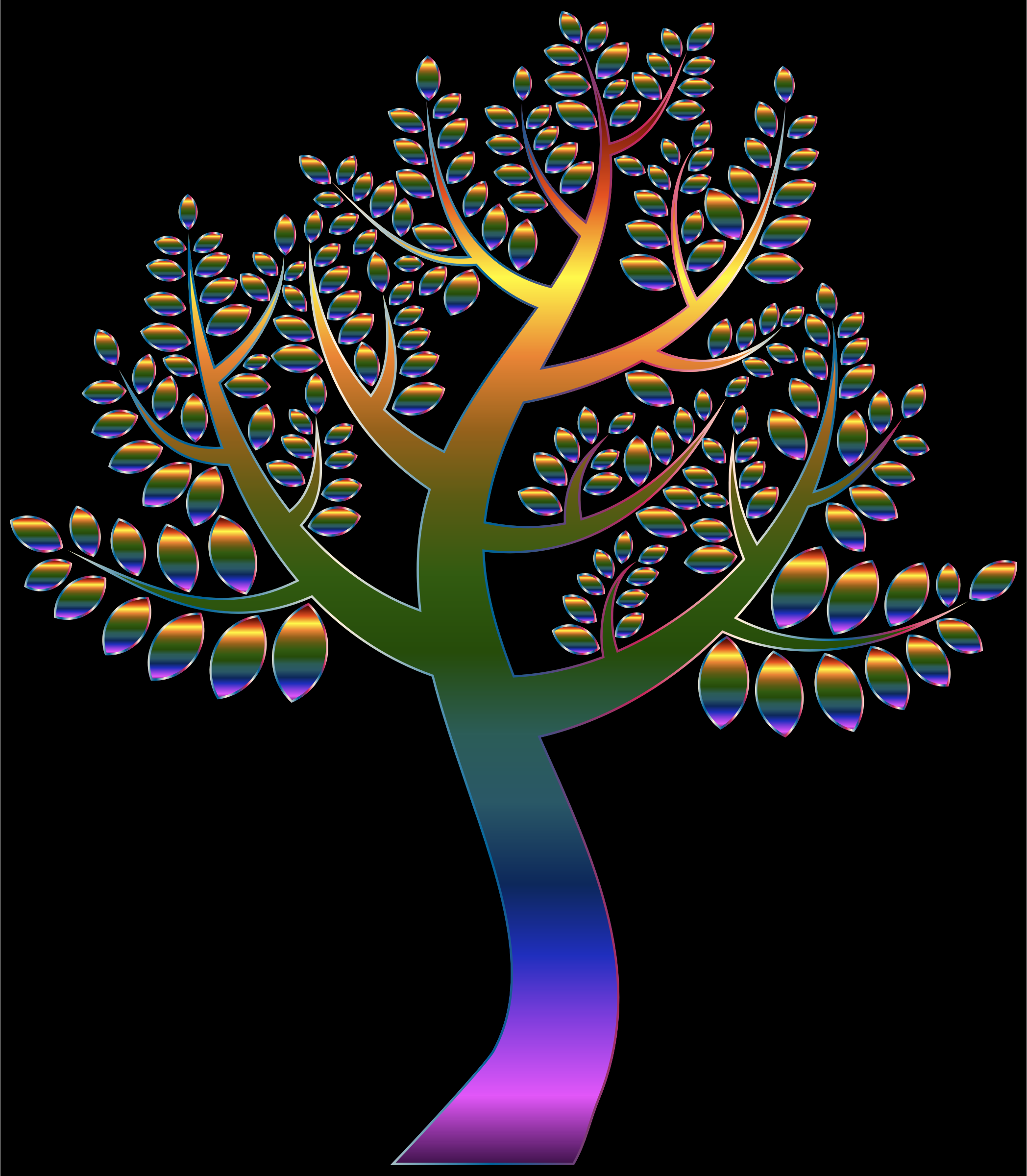 Simple Prismatic Tree 5 Variation 2 by GDJ
