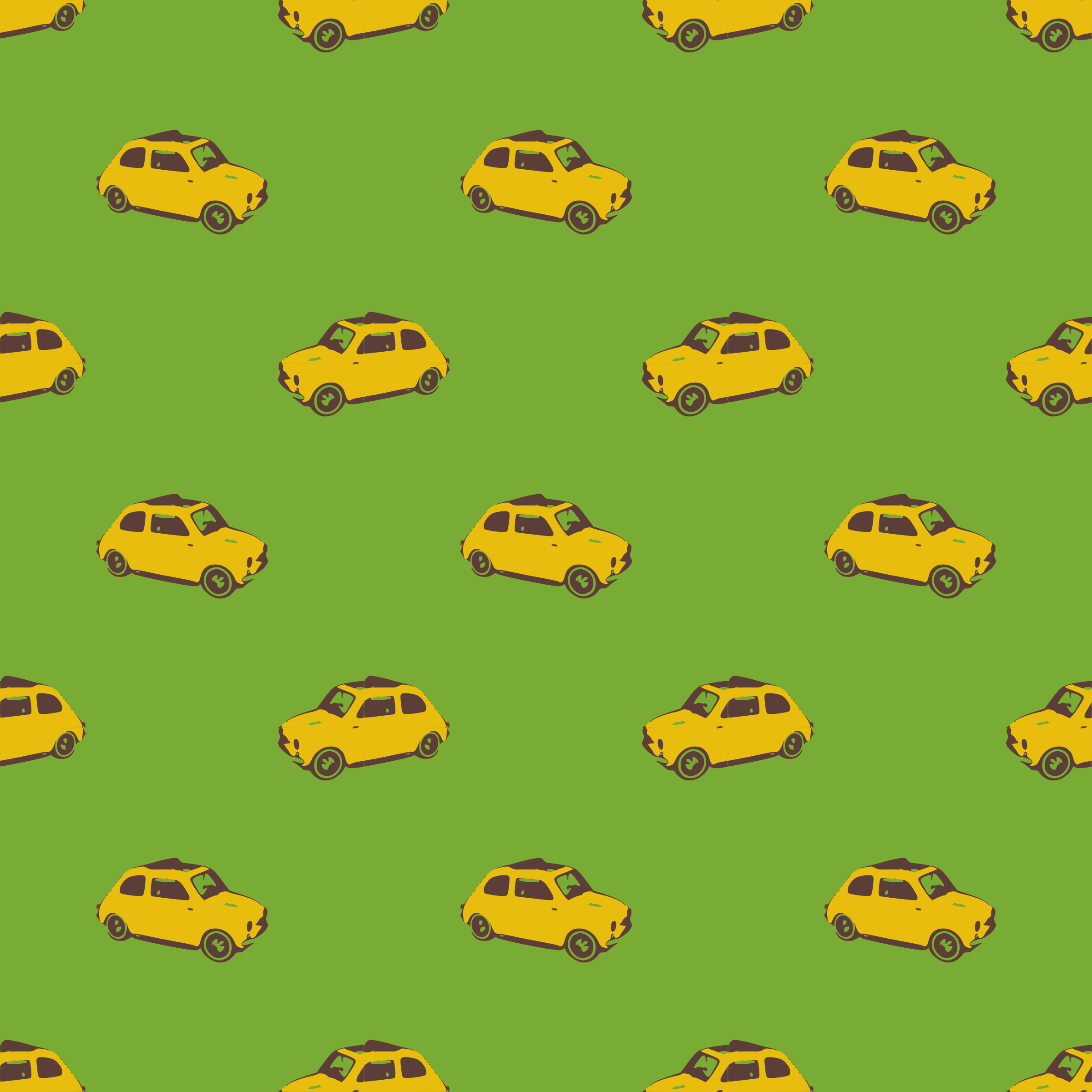 Fiat yellow-seamless pattern by yamachem