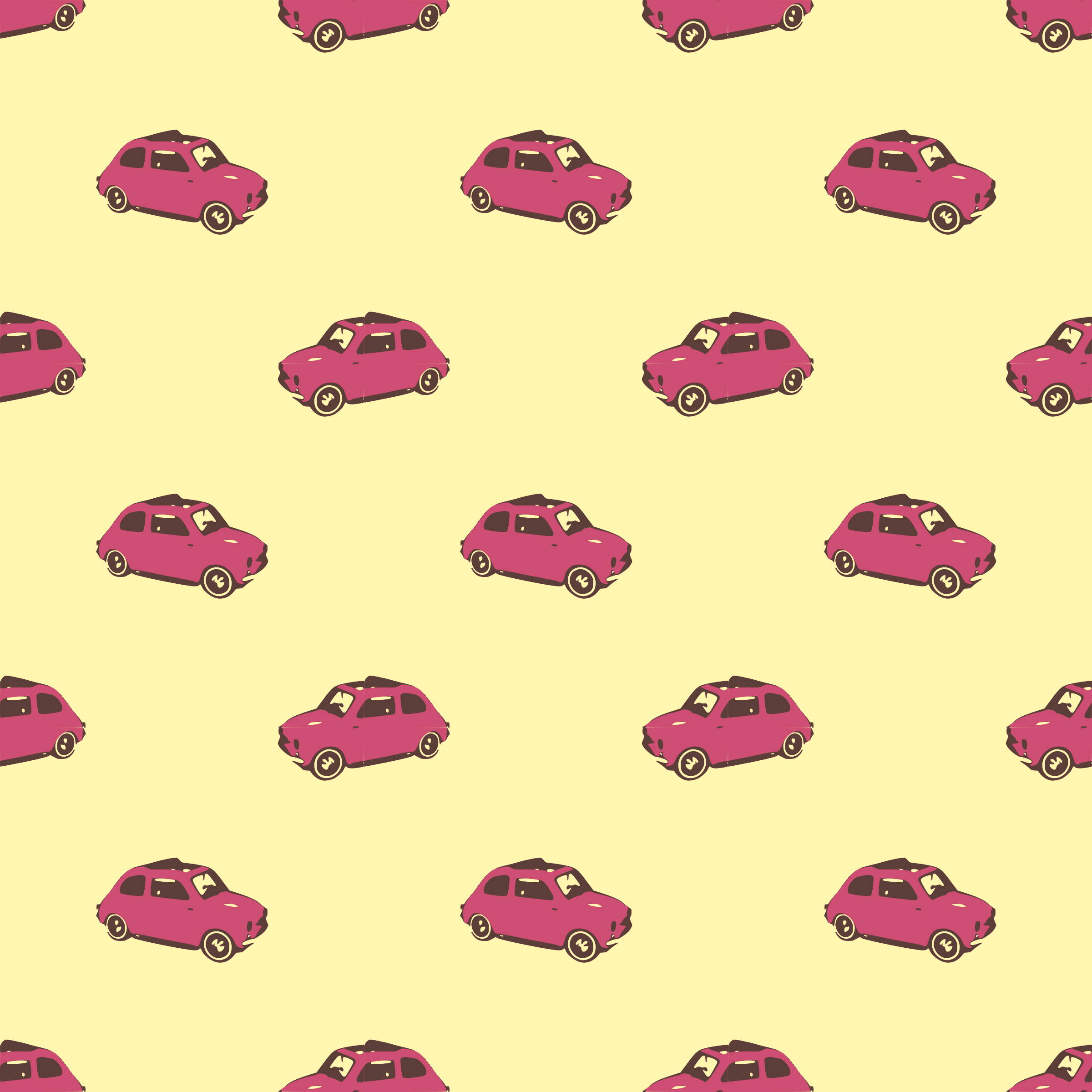 Fiat pink-seamless pattern by yamachem
