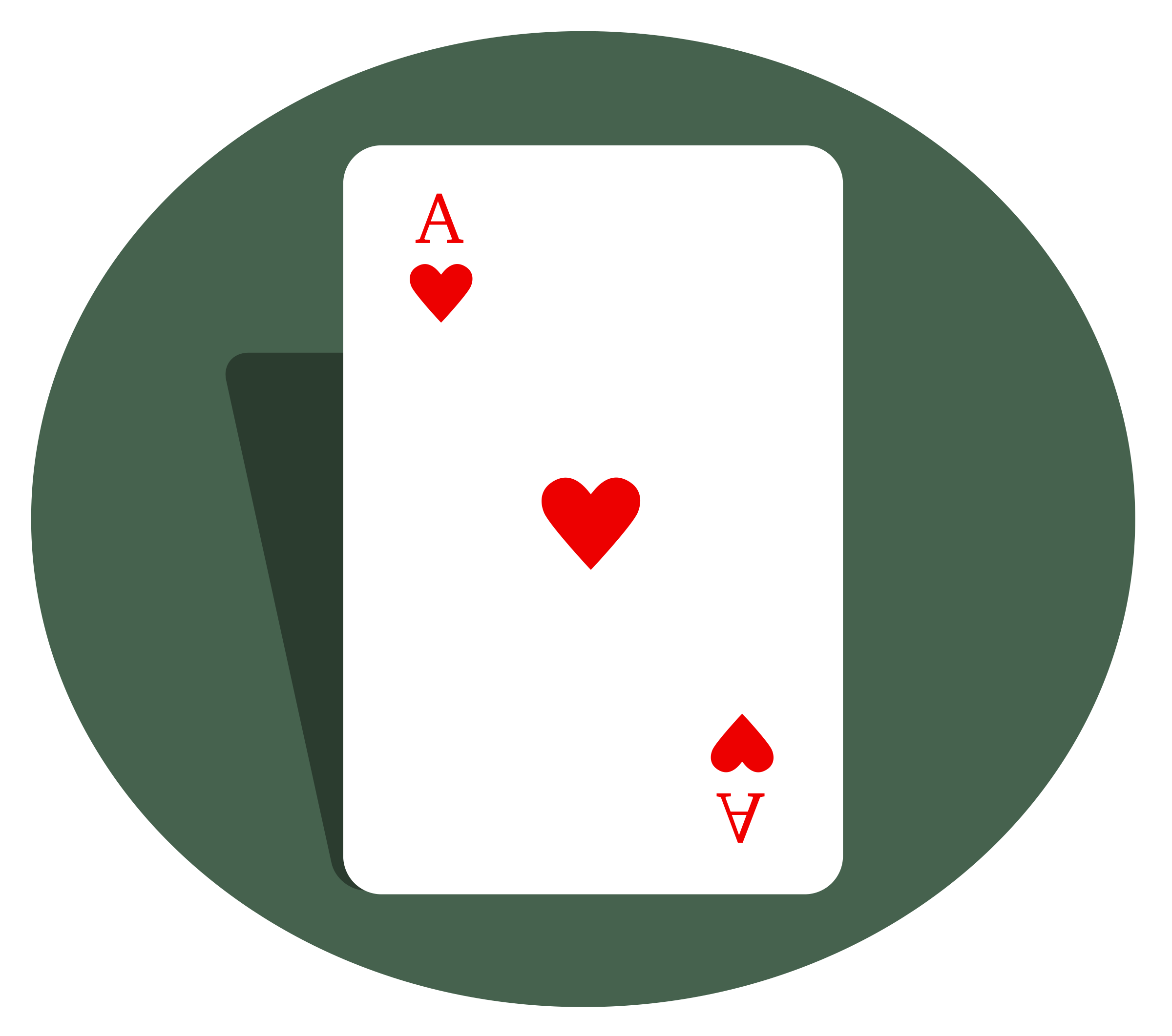Ace of hearts by beakman