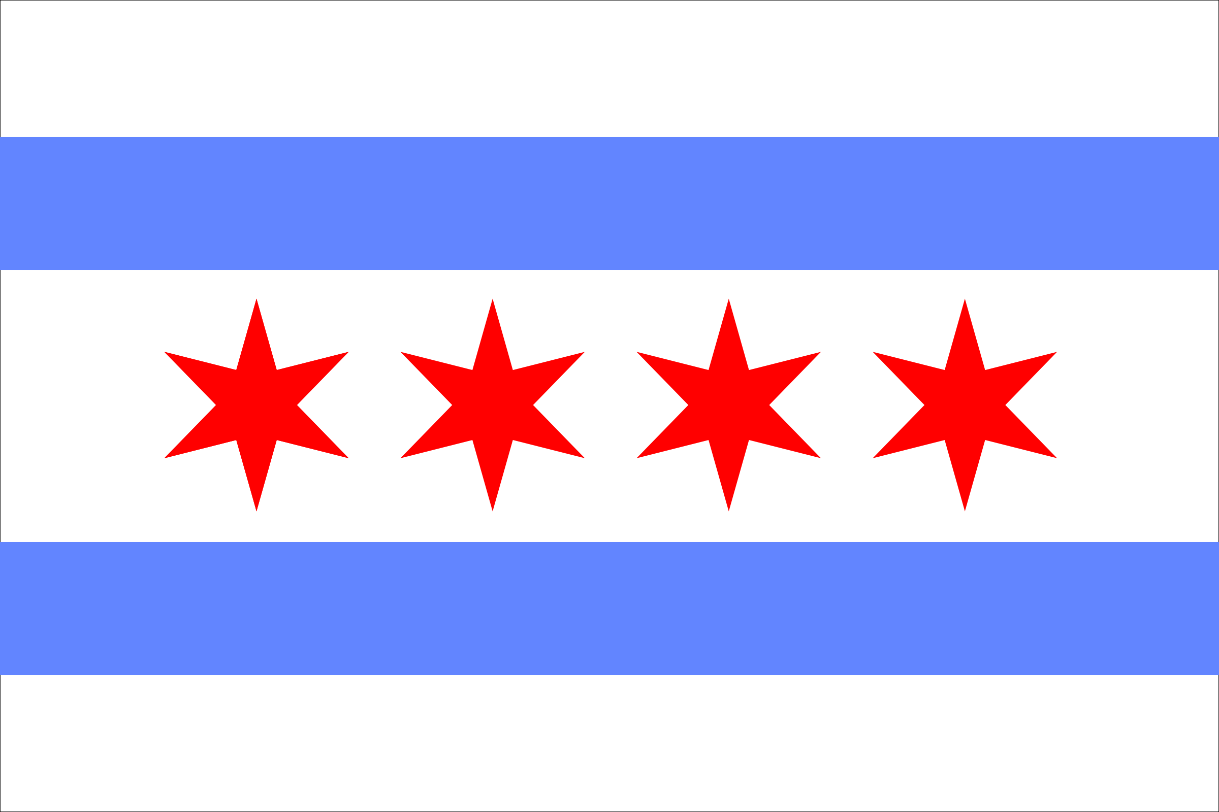 Chicago Flag by scyg