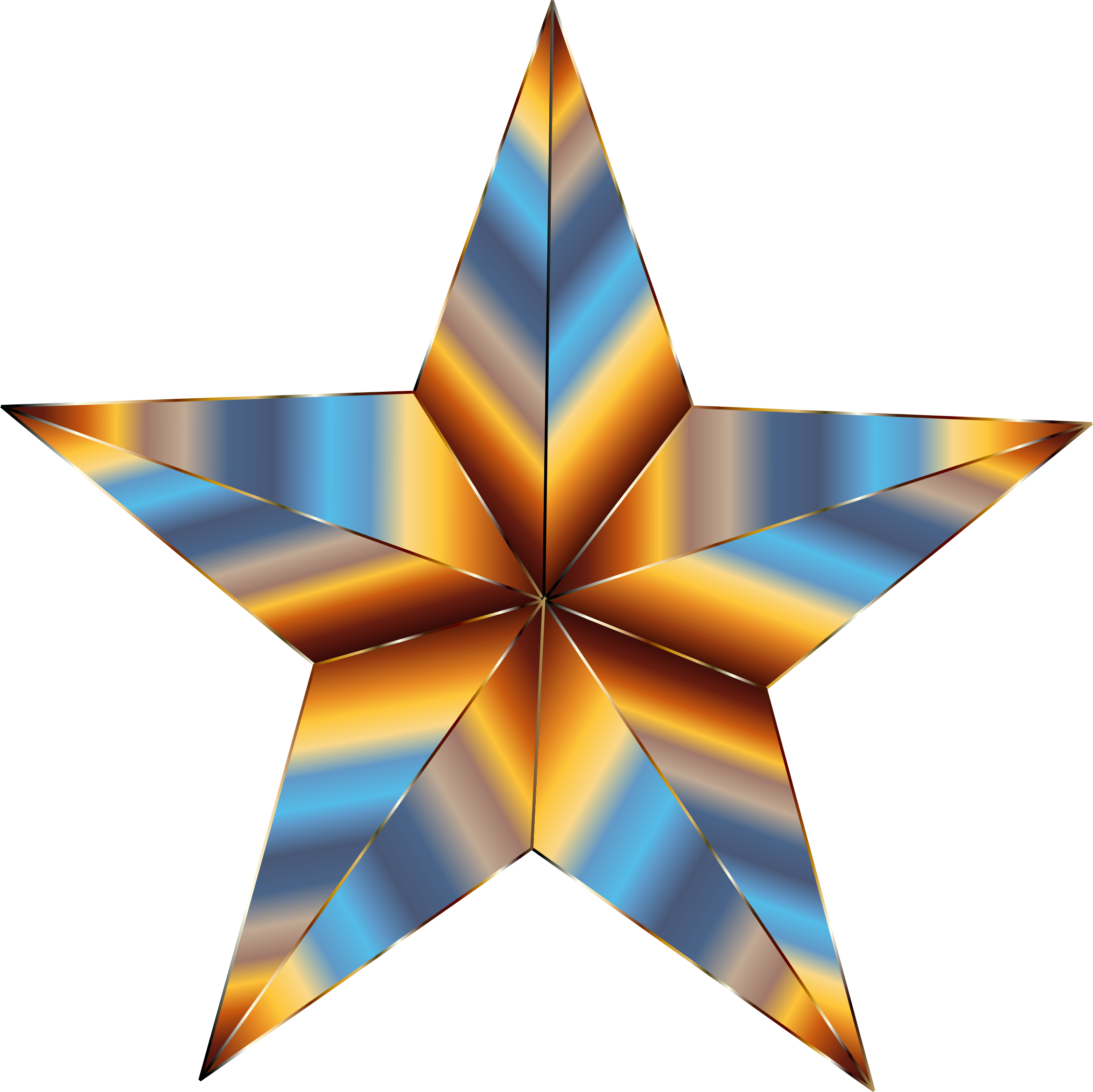 Prismatic Star 2 by GDJ