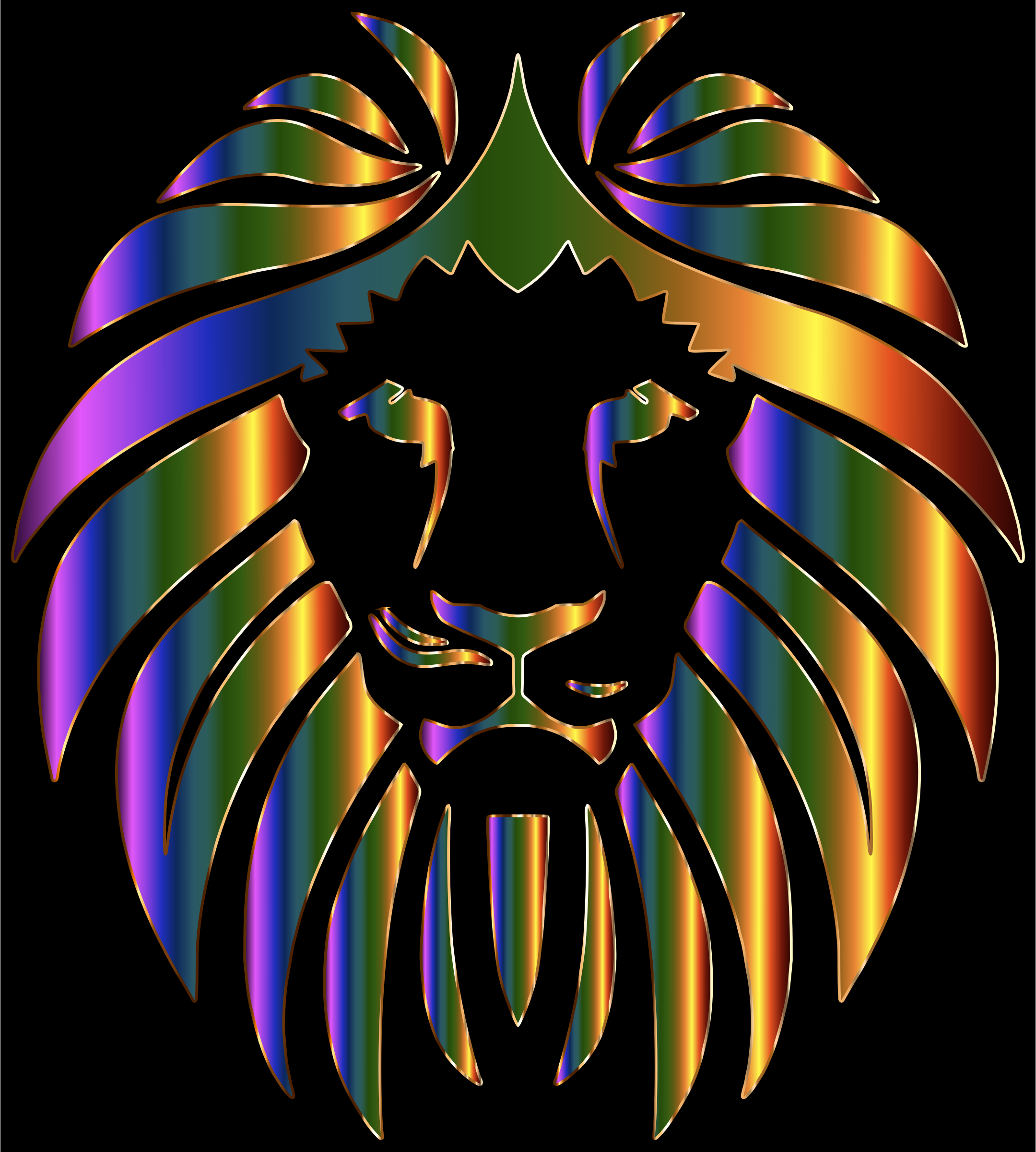 Prismatic Lion by GDJ