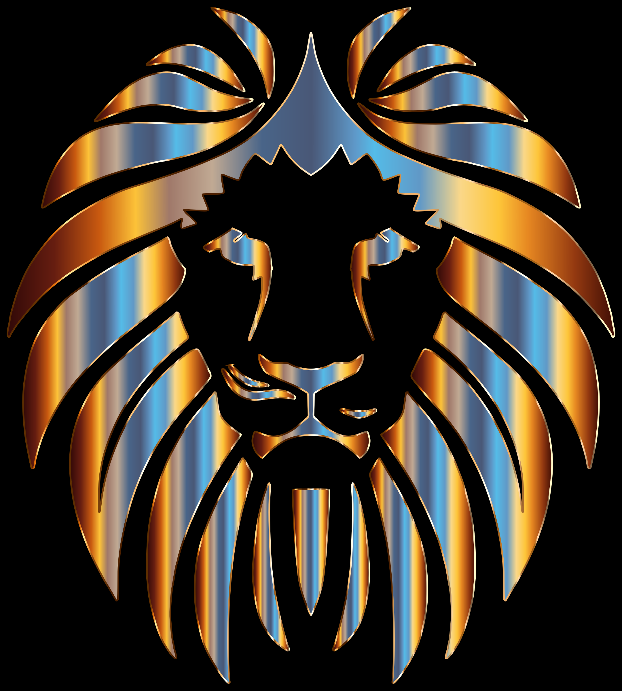 Prismatic Lion 2 by GDJ