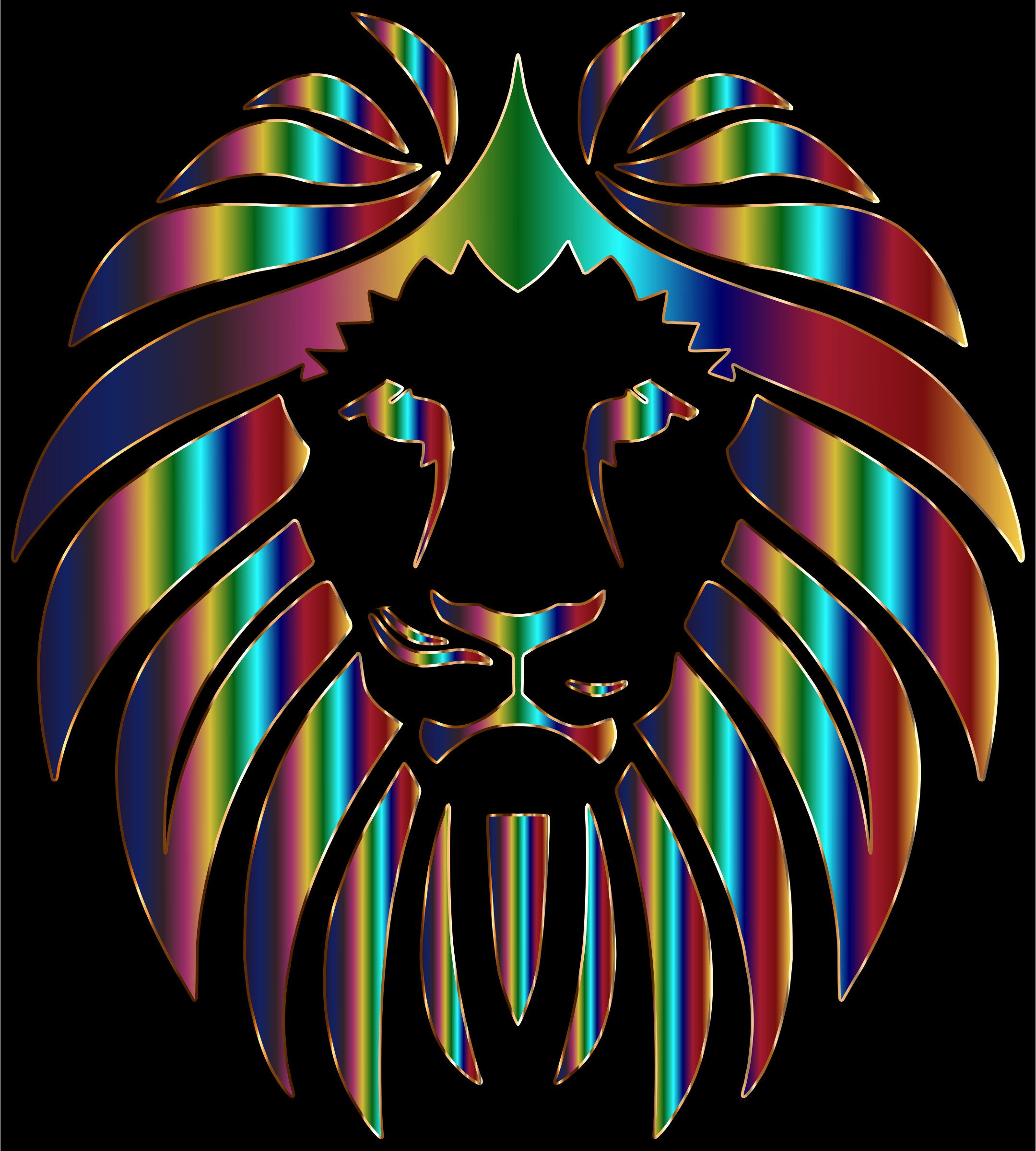 Prismatic Lion 3 by GDJ