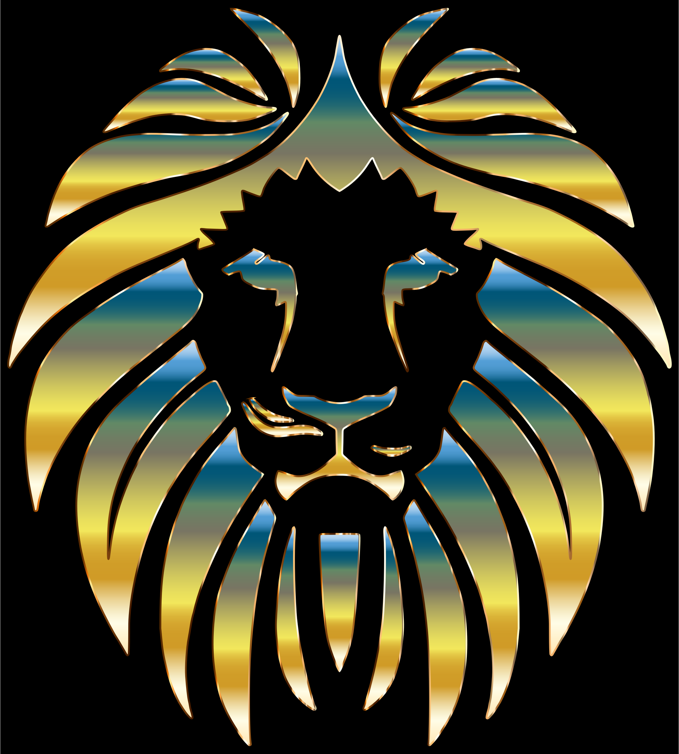 Prismatic Lion 5 by GDJ