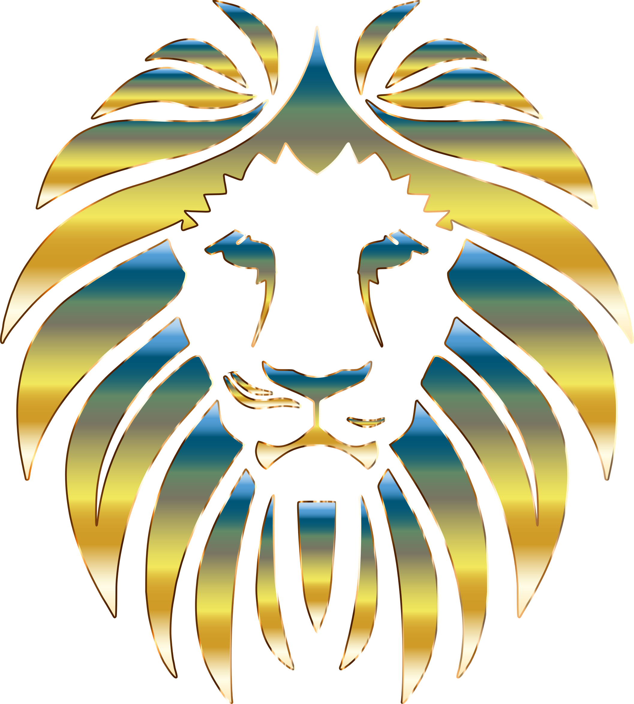 Prismatic Lion 5 No Background by GDJ