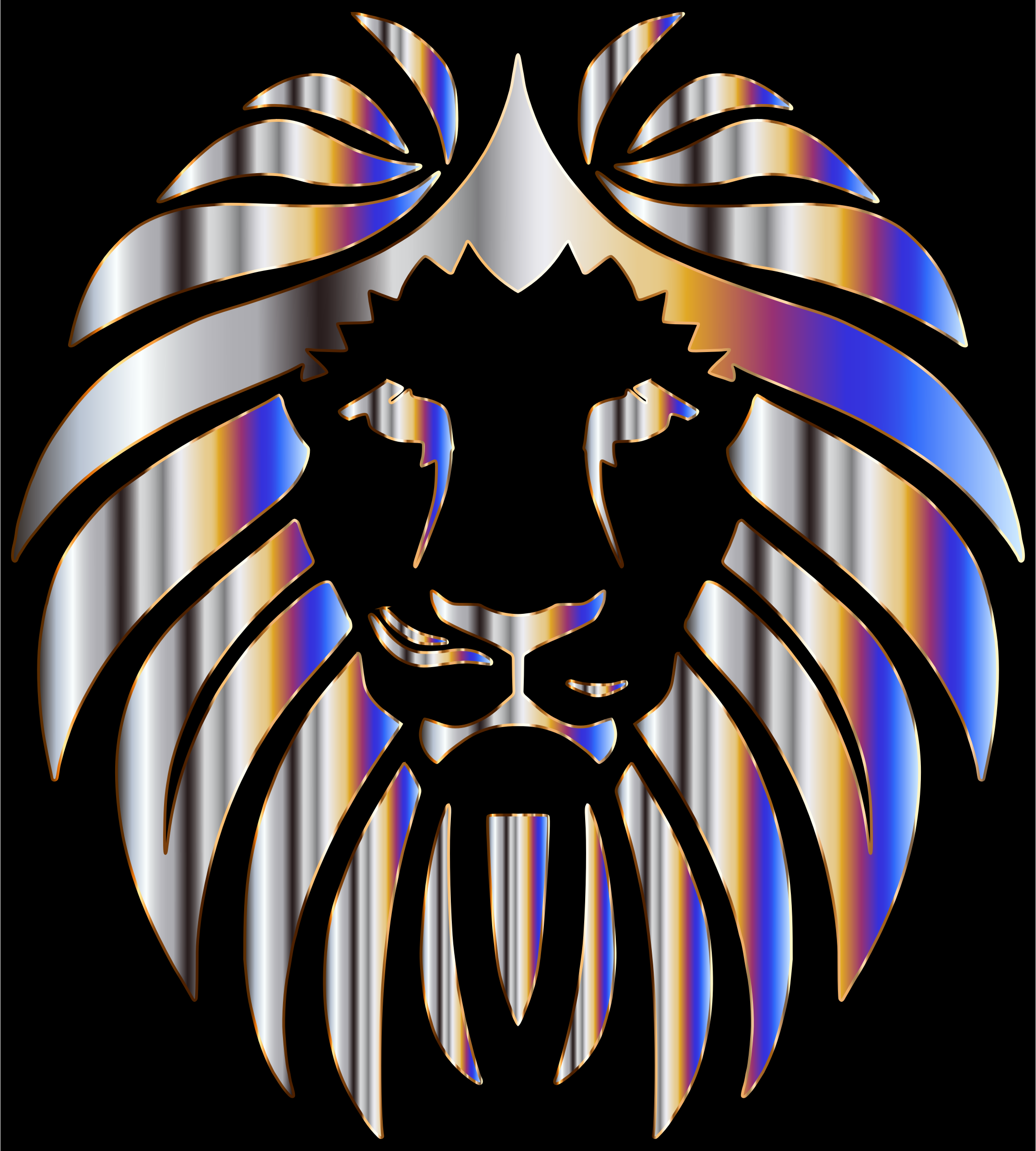 Prismatic Lion 6 by GDJ