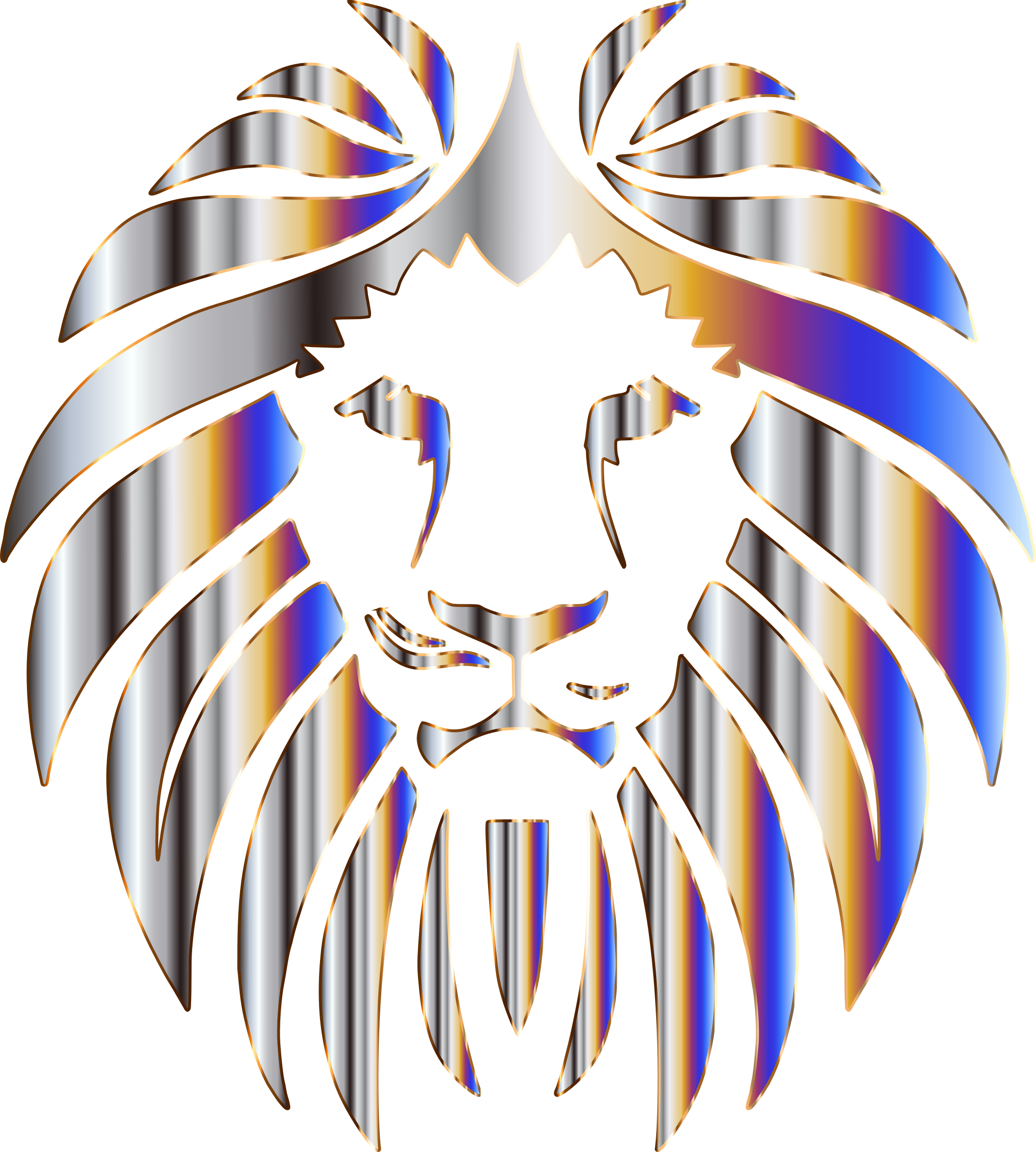 Prismatic Lion 6 No Background by GDJ