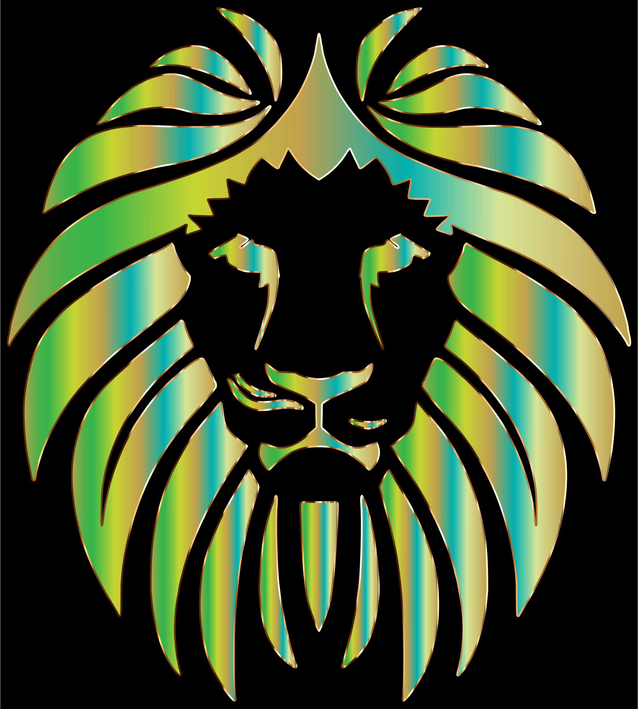 Prismatic Lion 7 by GDJ