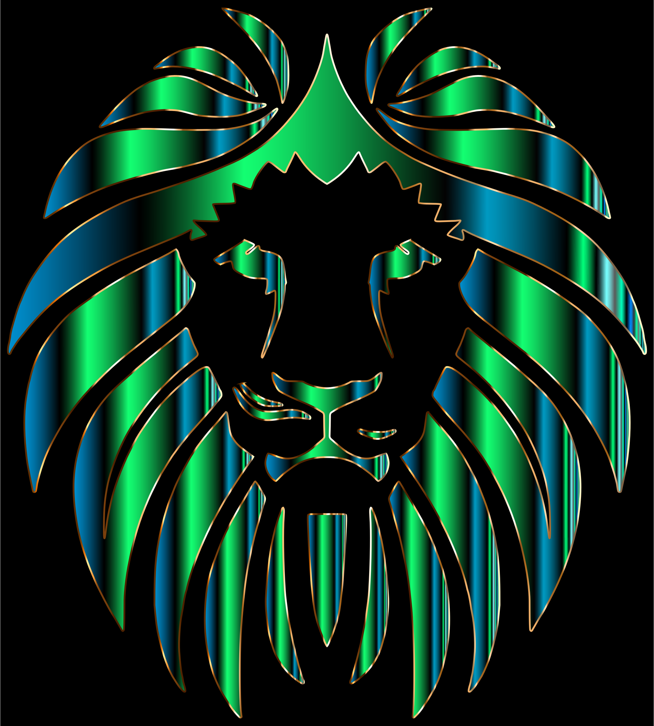 Prismatic Lion 11 by GDJ