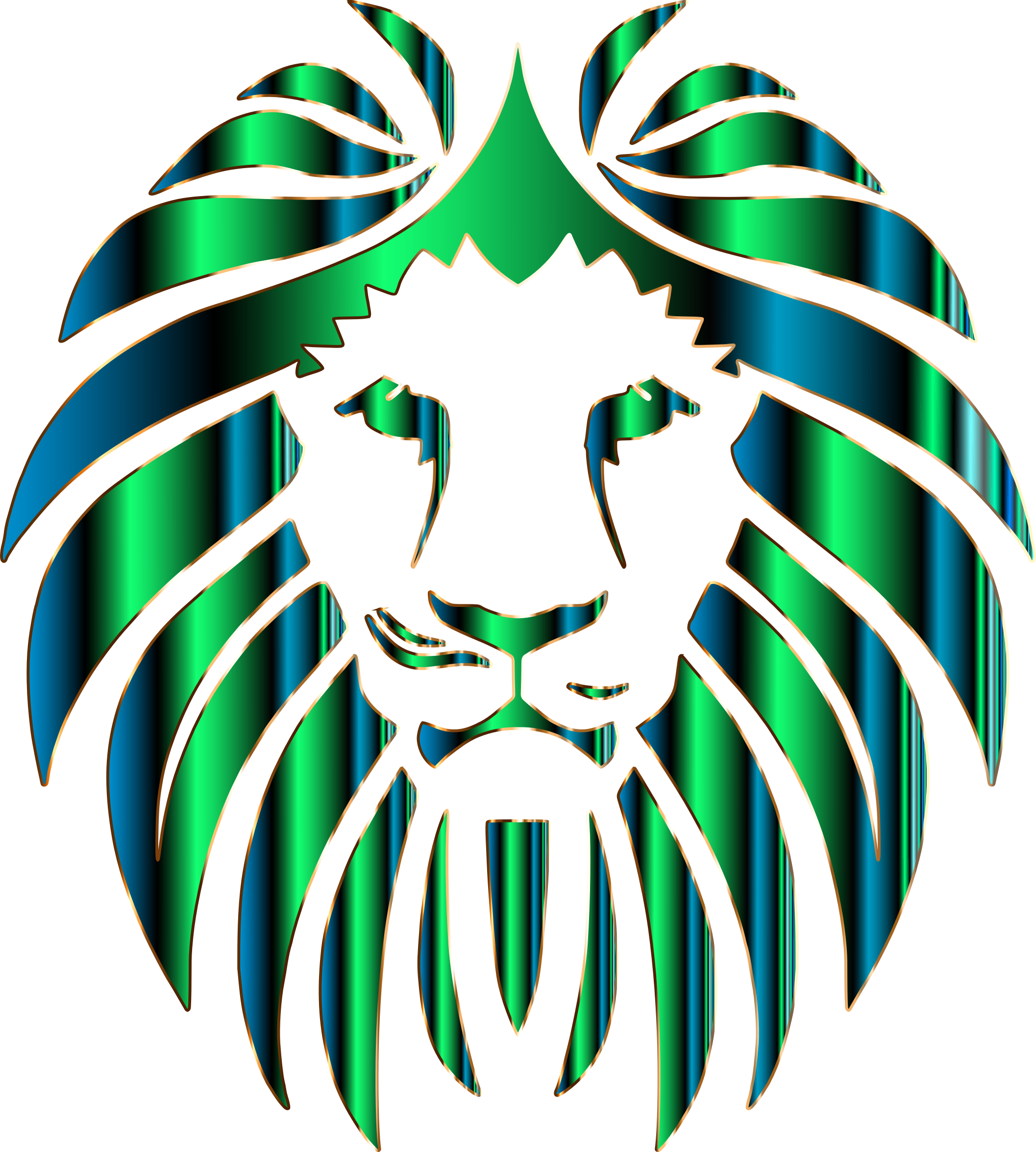 Prismatic Lion 11 No Background by GDJ