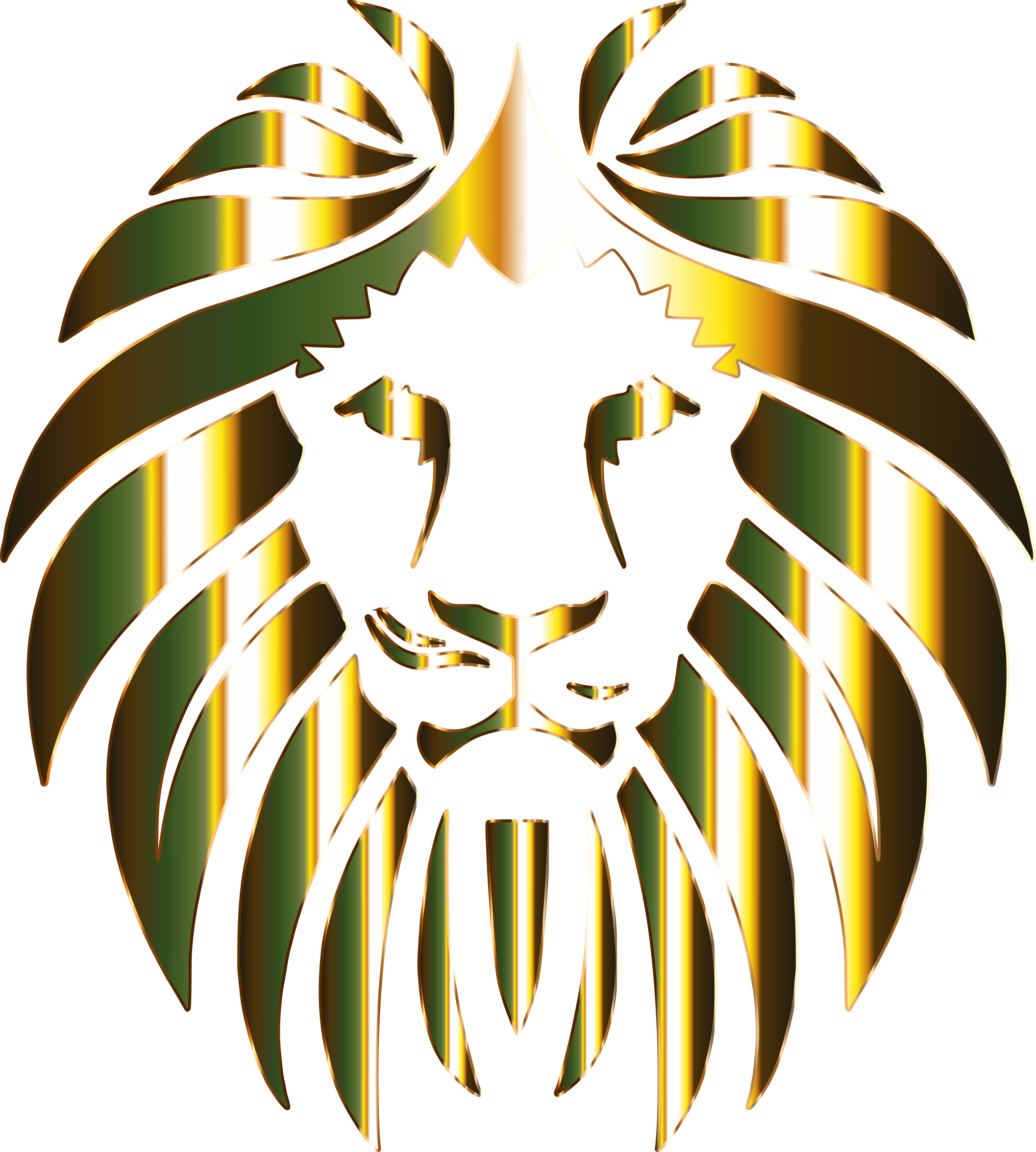Golden Lion 6 No Background by GDJ