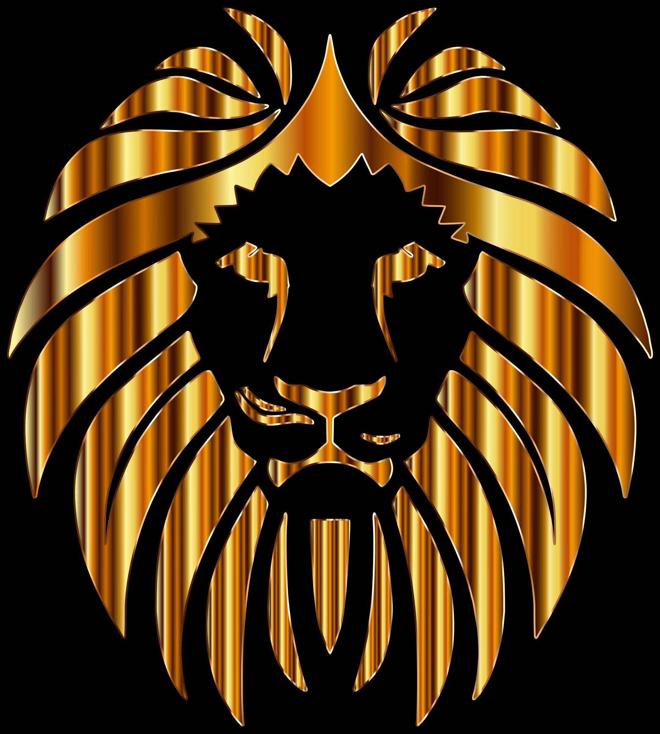 Golden Lion 10 by GDJ Golden Lion Clipart
