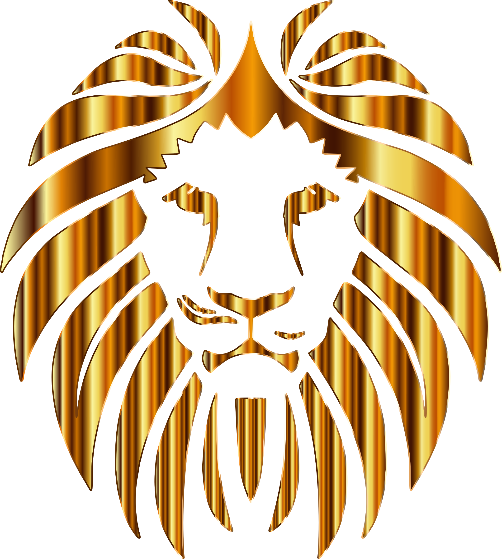 Golden Lion 10 No Background by GDJ