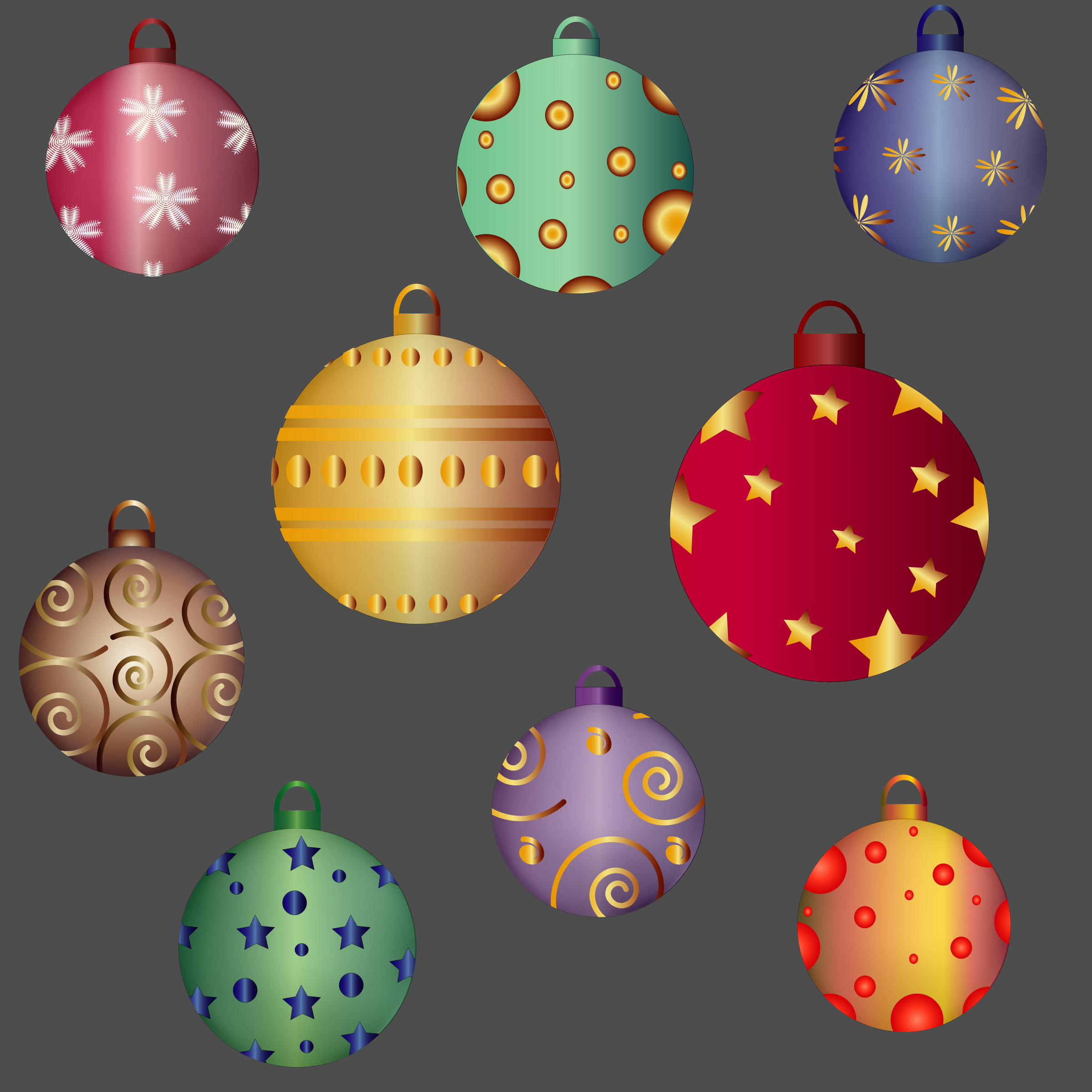 HOLIDAY GIFT-- BALLS by barbie40