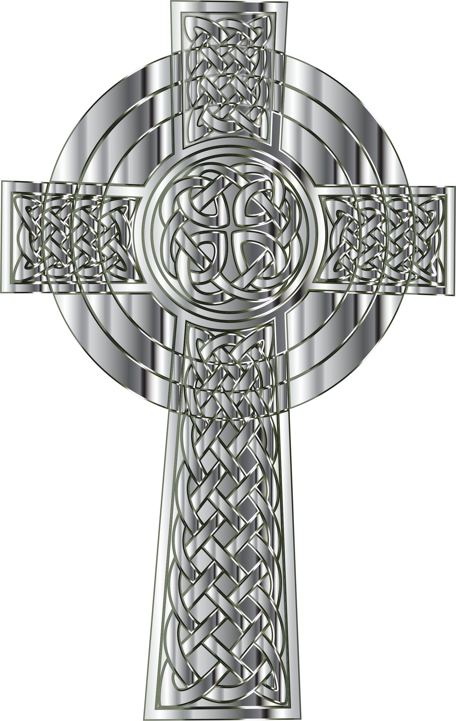 Chrome Celtic Cross by GDJ