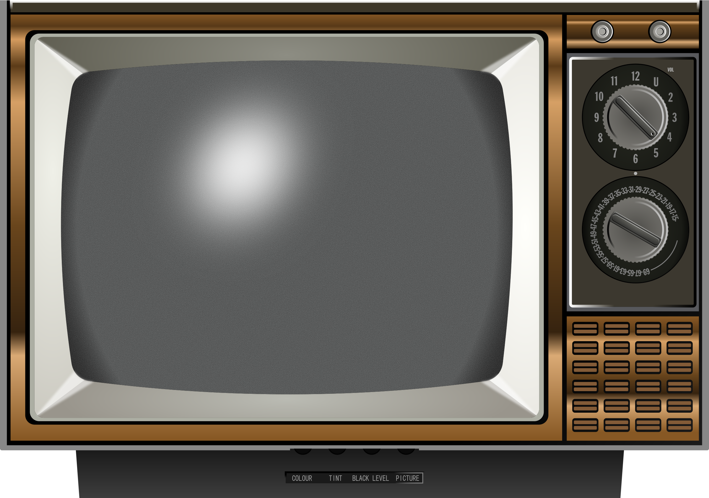 Clipart - Old TV 2