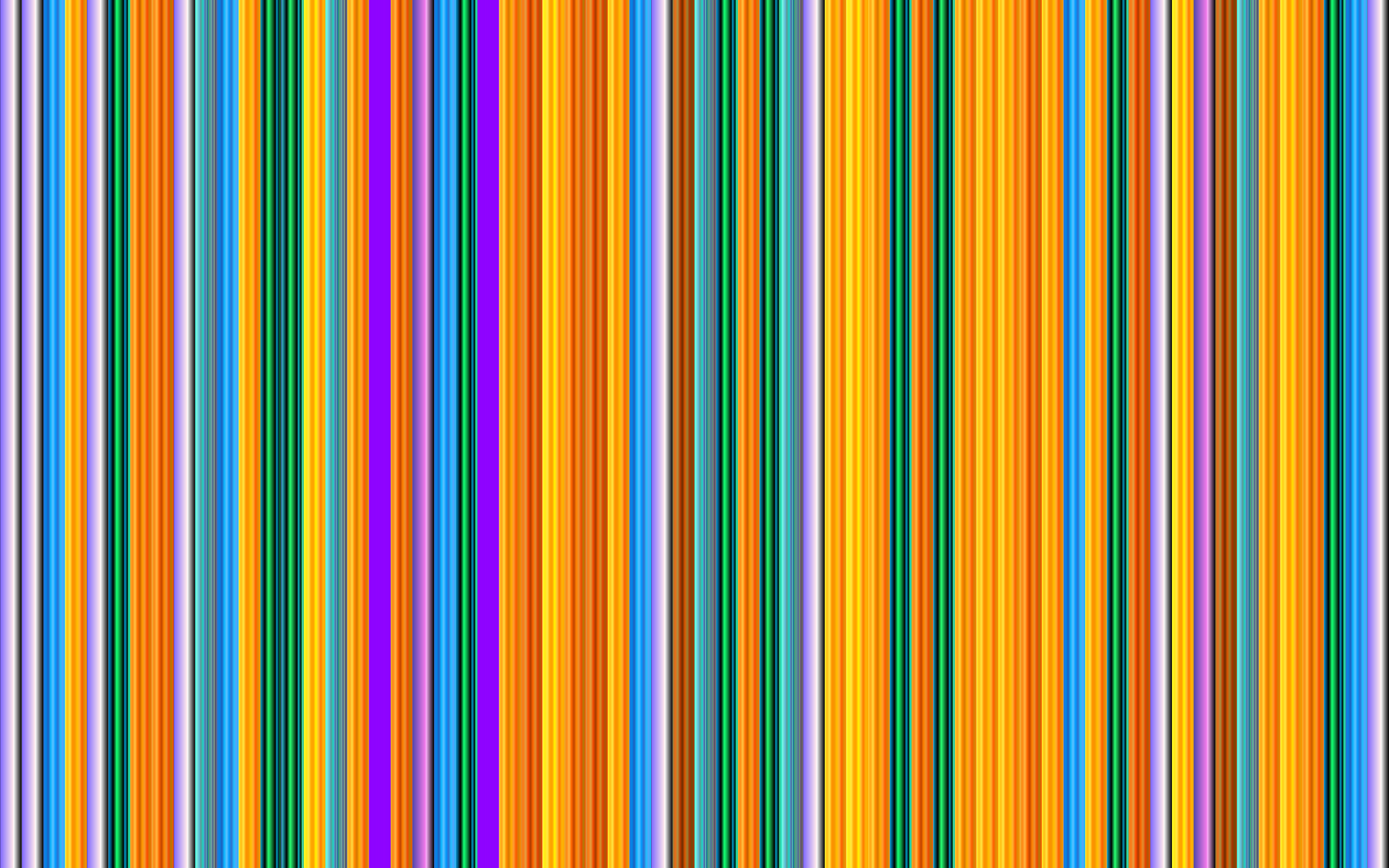 Vibrant Vertical Stripes 6 by GDJ