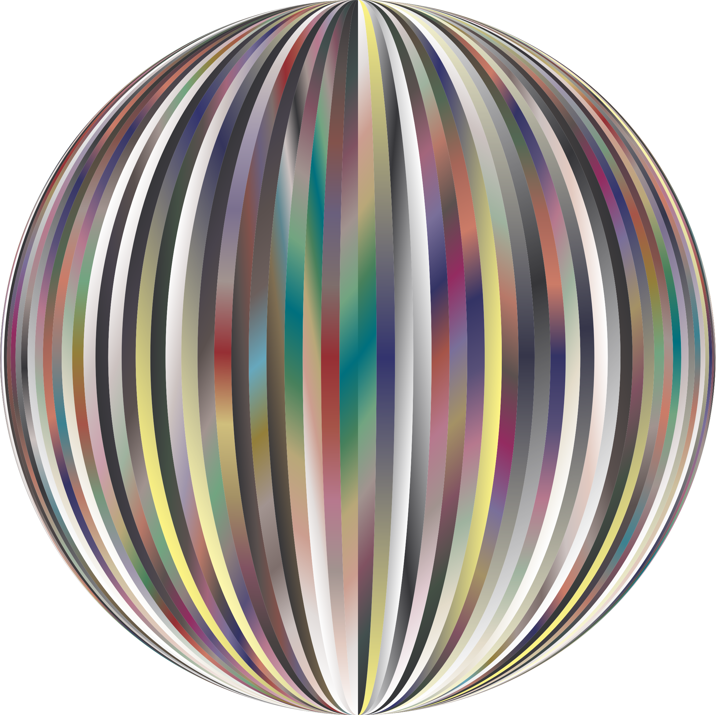 Vibrant Sphere 3 by GDJ