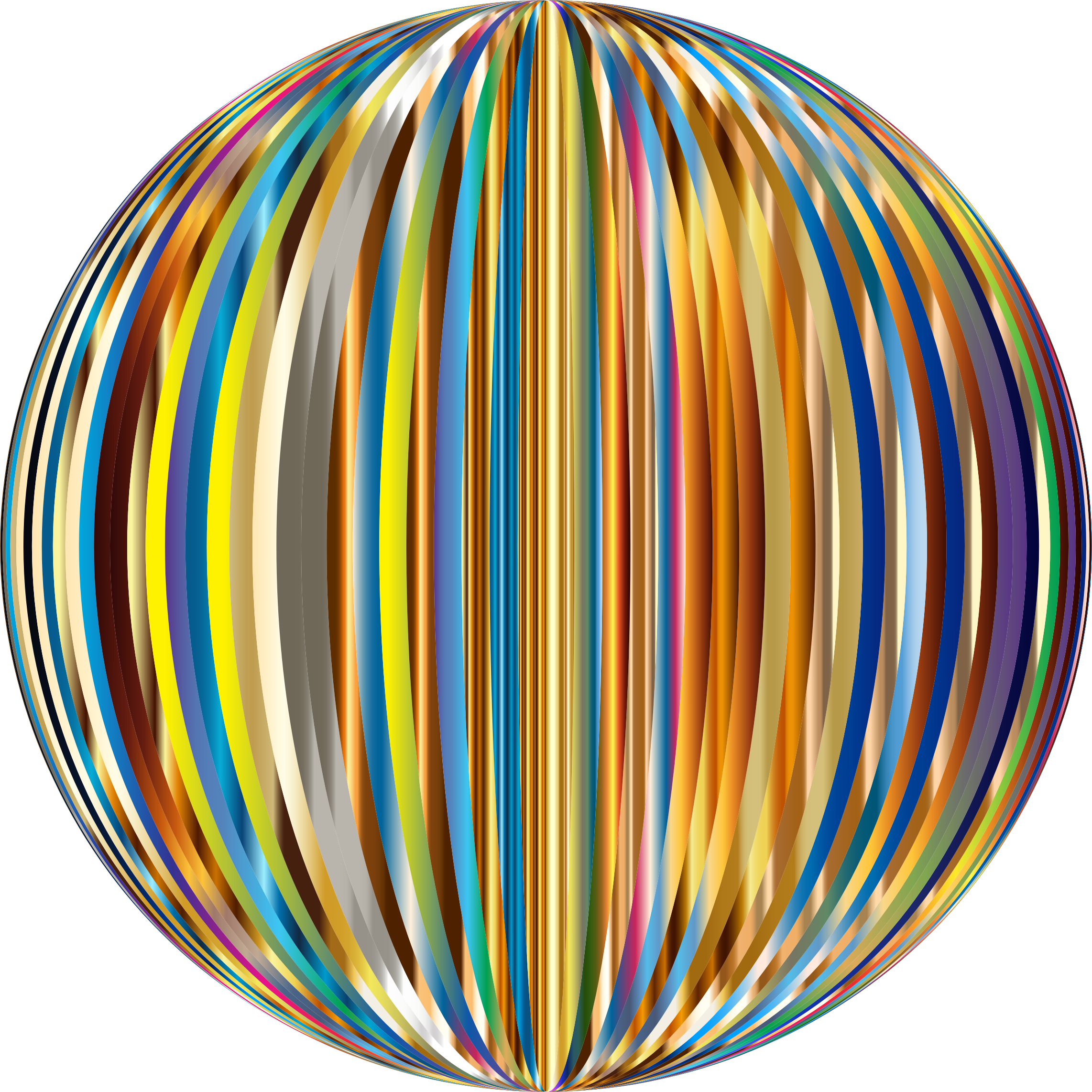 Vibrant Sphere 4 by GDJ