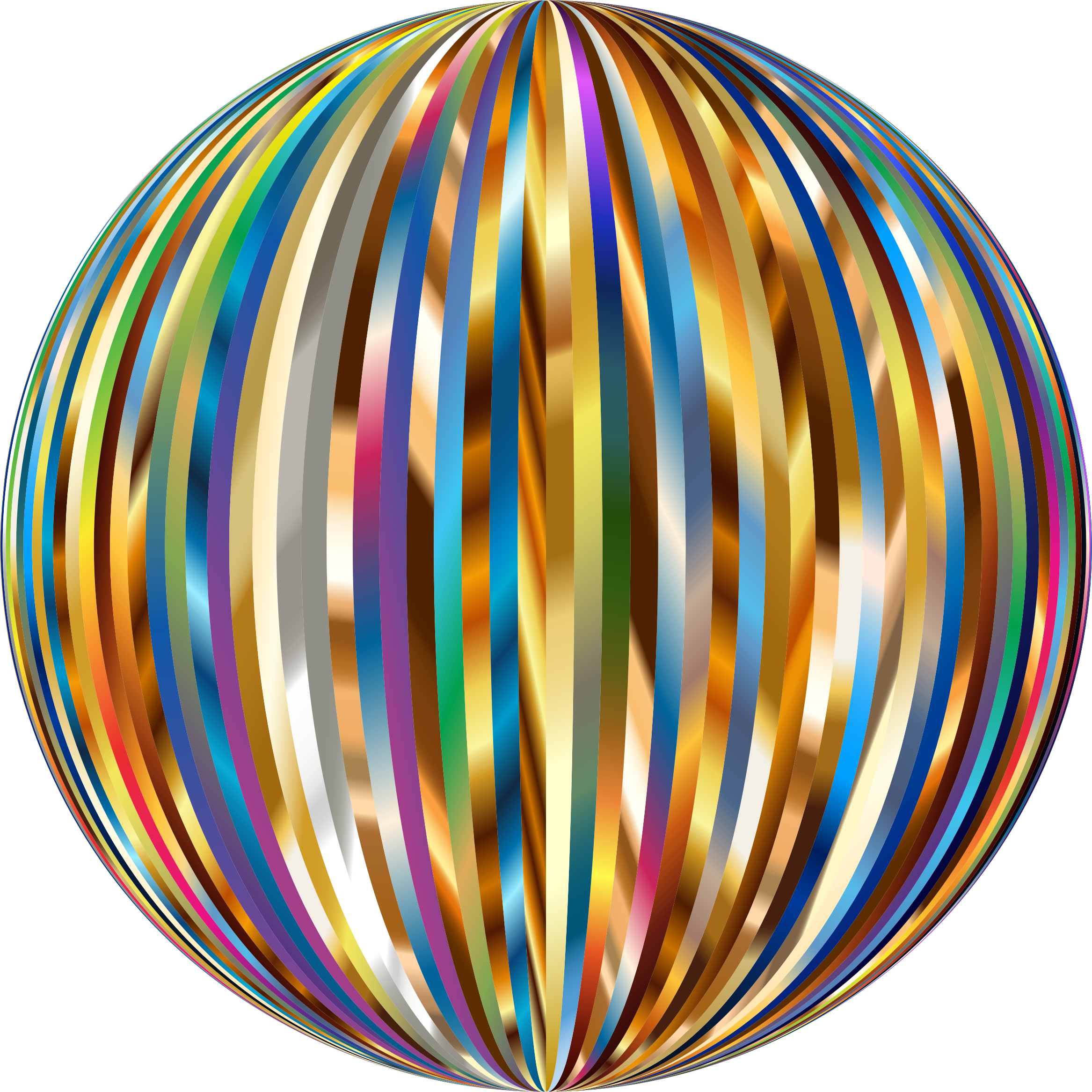 Vibrant Sphere 5 by GDJ