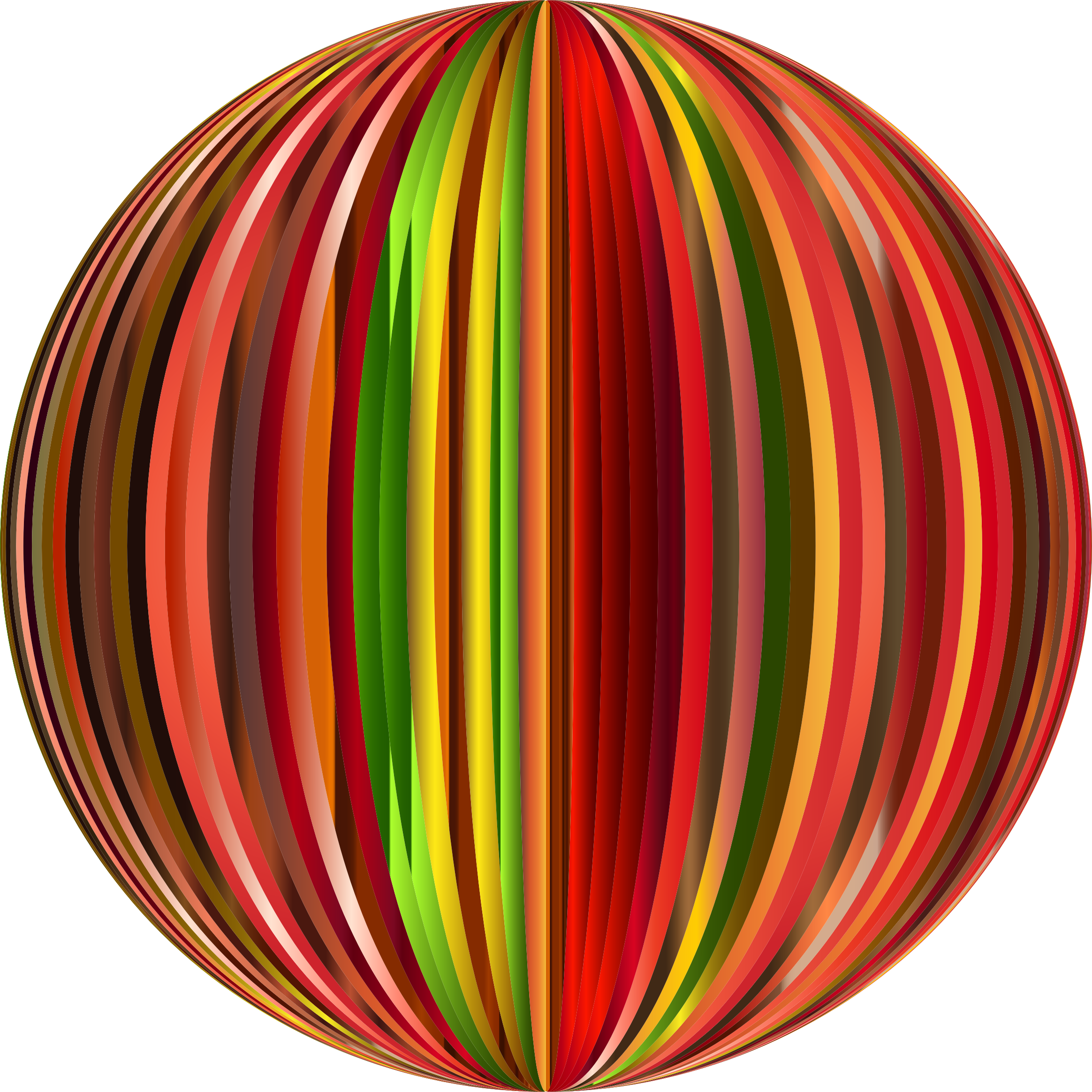 Vibrant Sphere 7 by GDJ