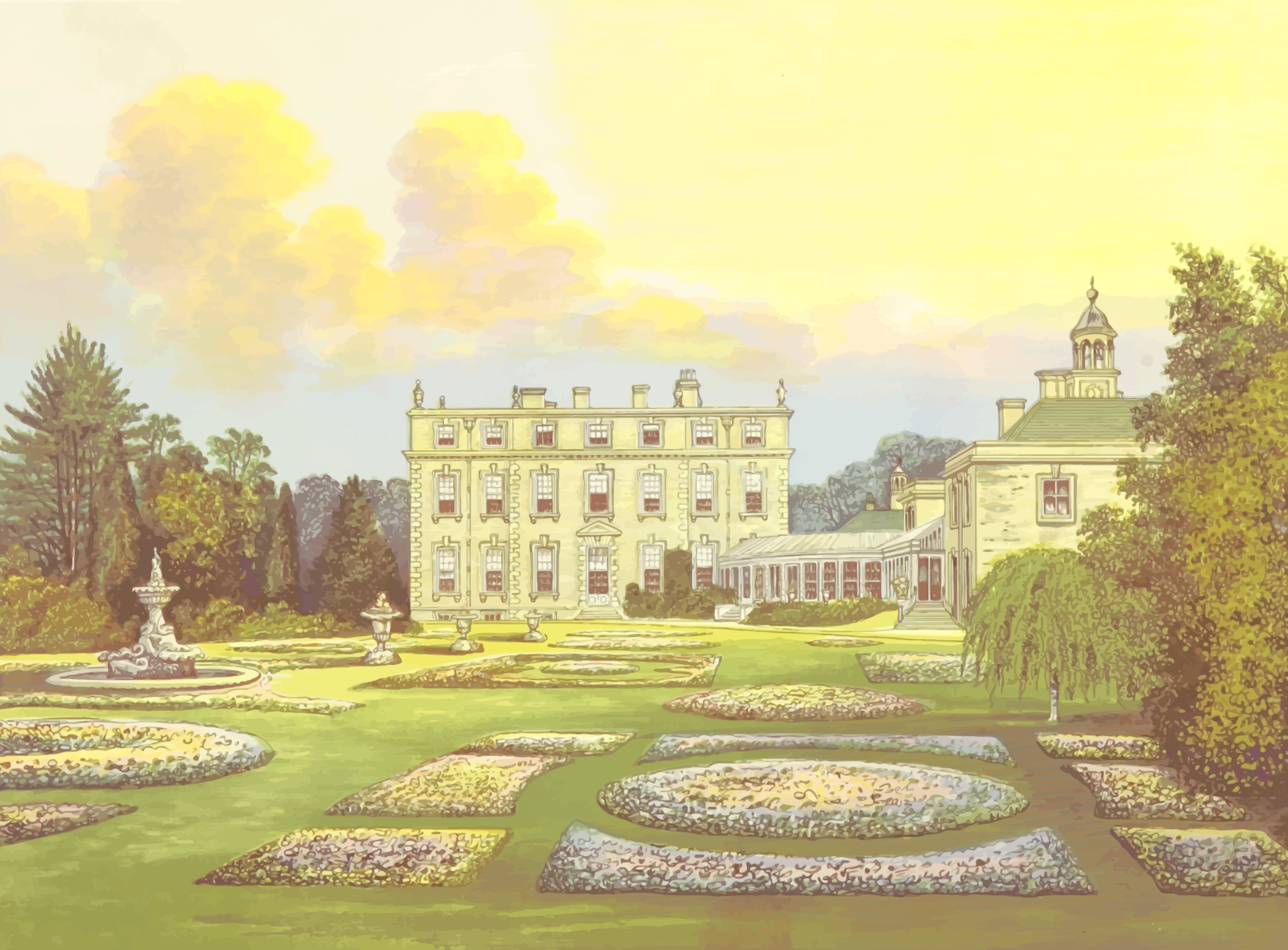 Ditchley Hall by Firkin