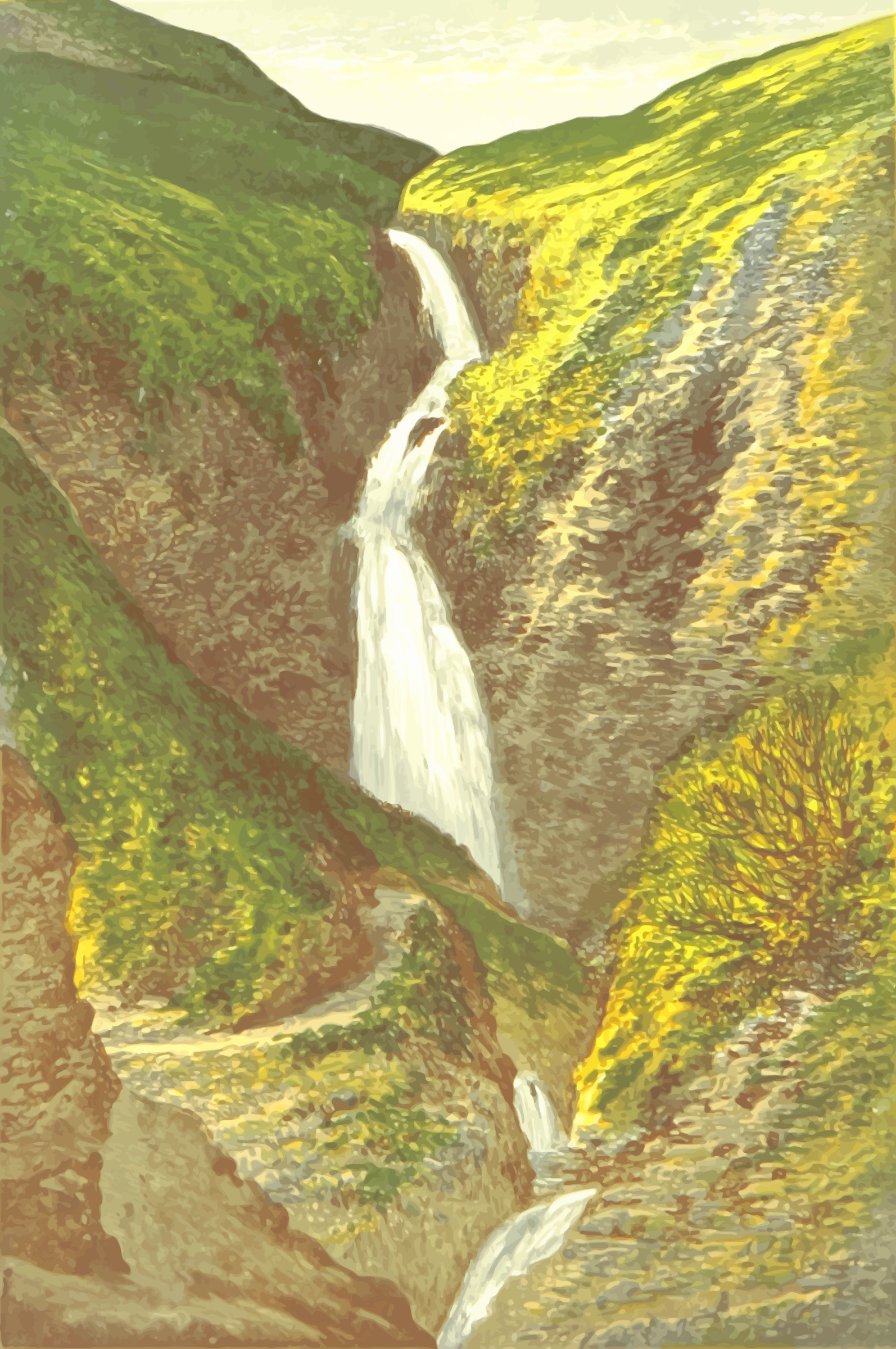 Grey Mare's Tail by Firkin