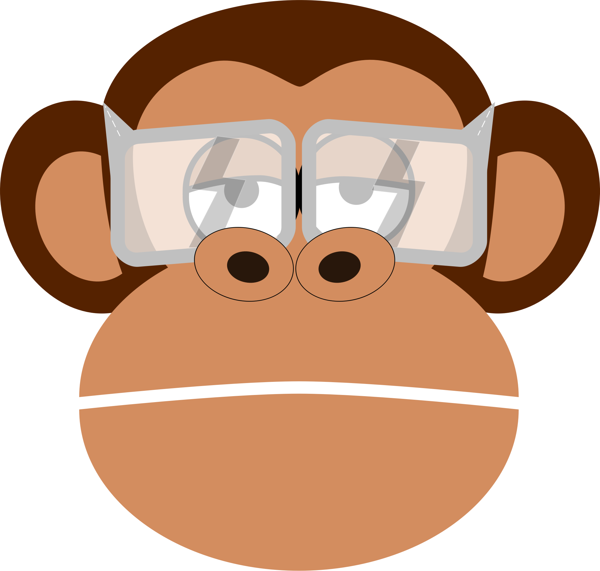 eye protection monkey by nikos_k