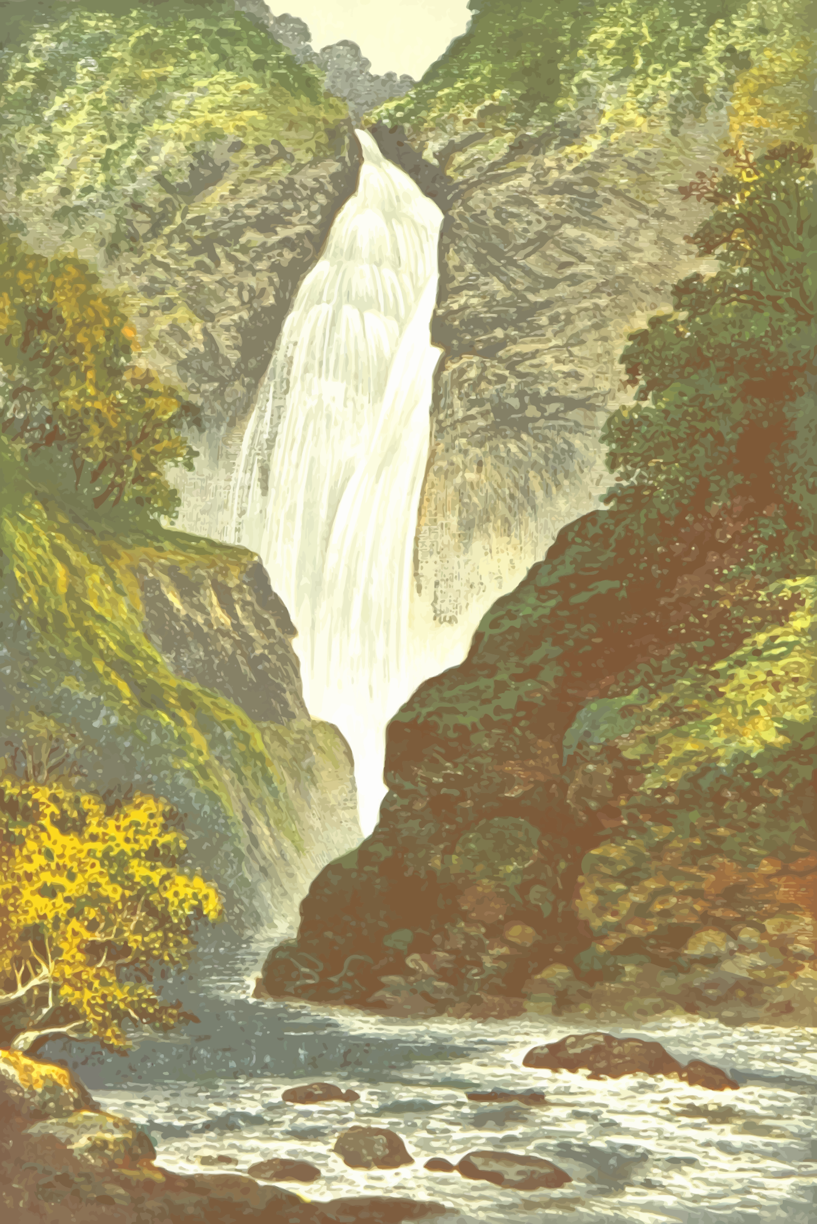 Falls of Foyers by Firkin