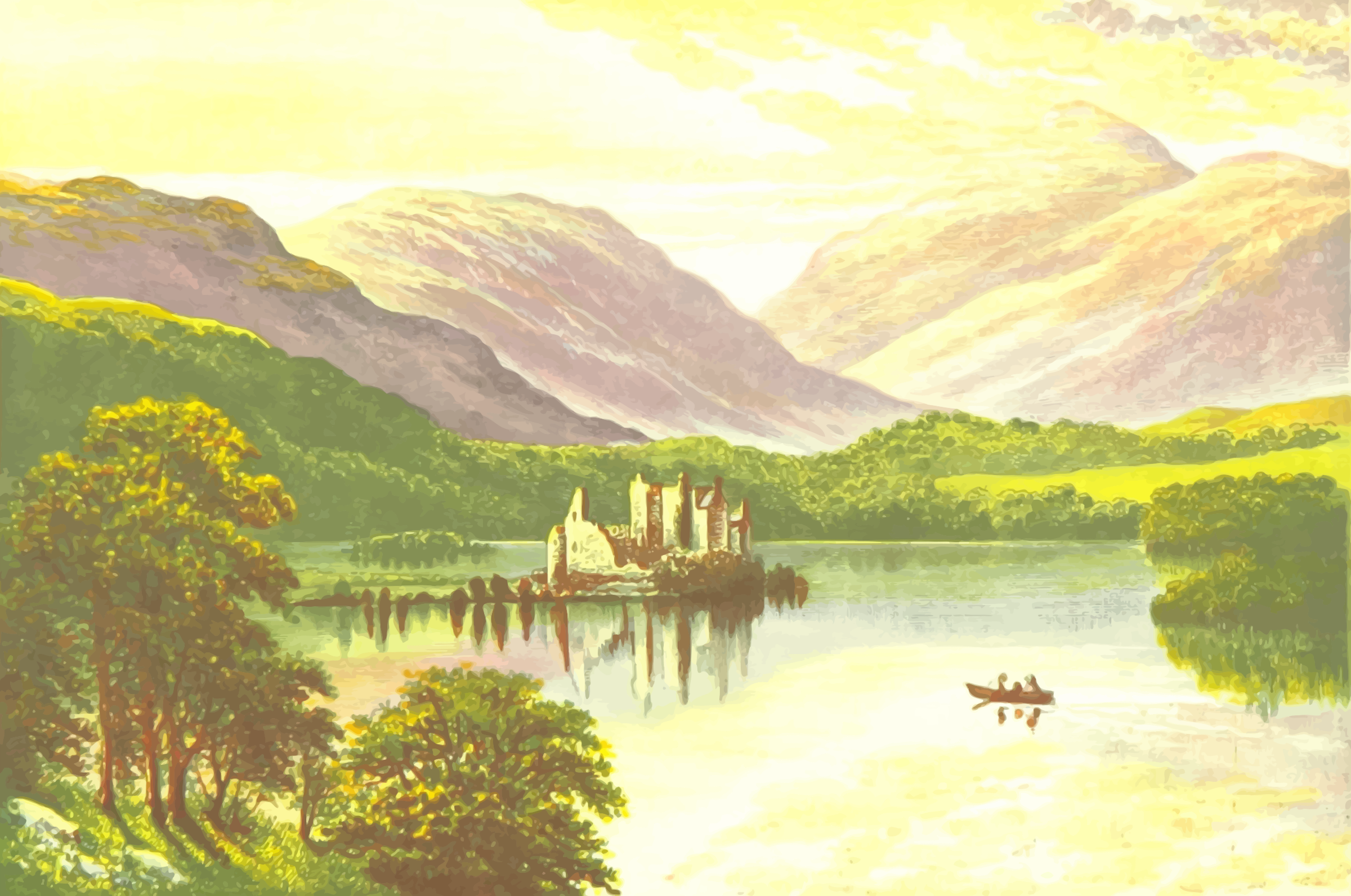 Loch Awe by Firkin