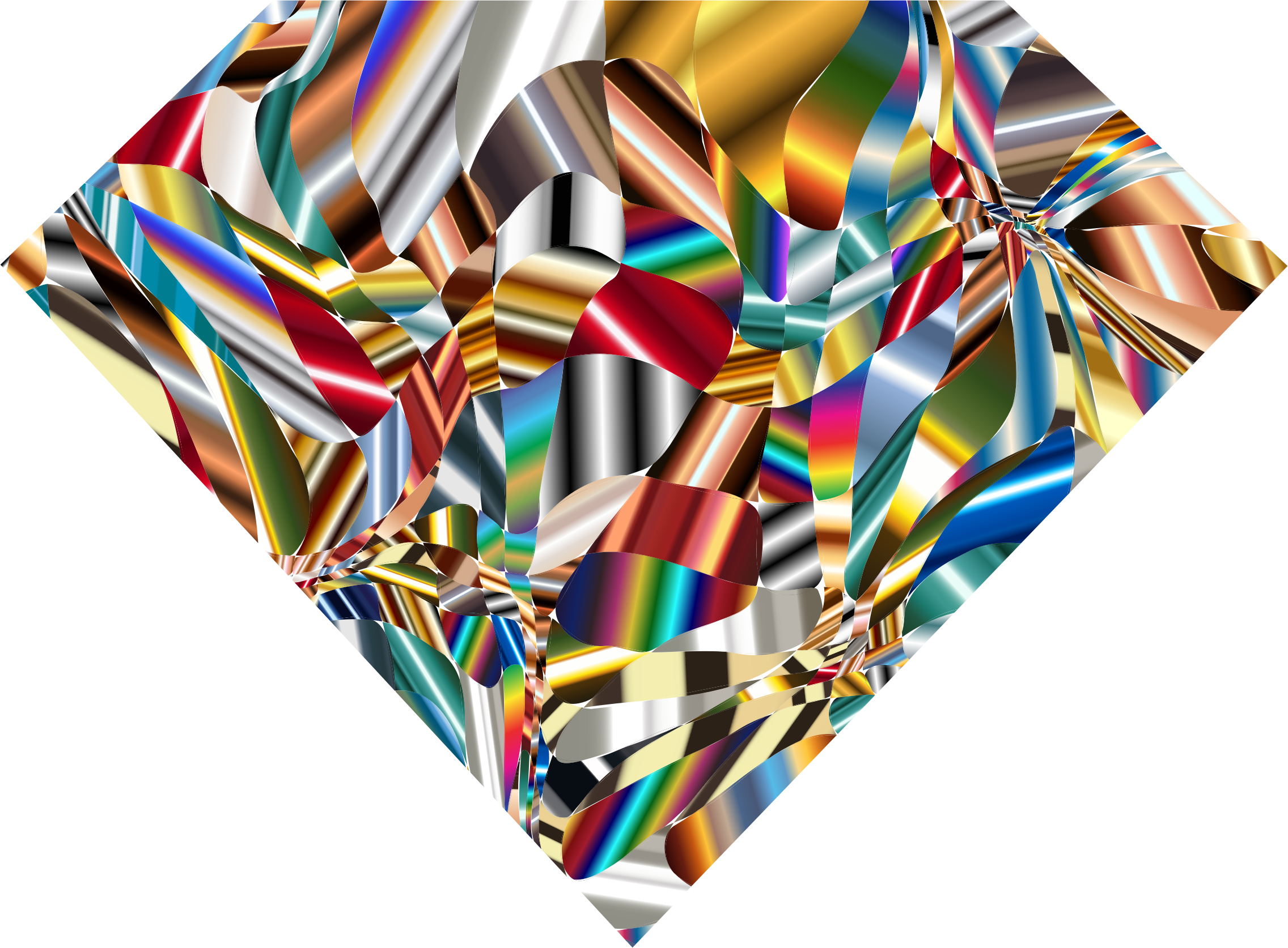 Prismatic Chaos Diamond 8 by GDJ