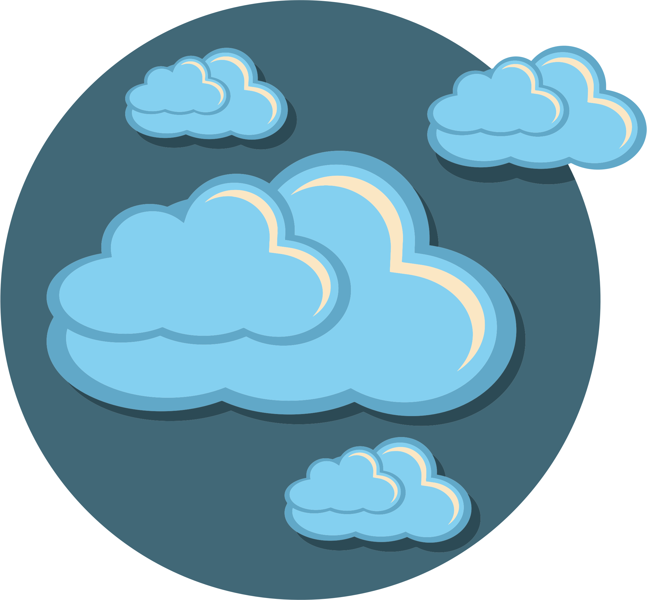 Storm Clouds Icon by GDJ