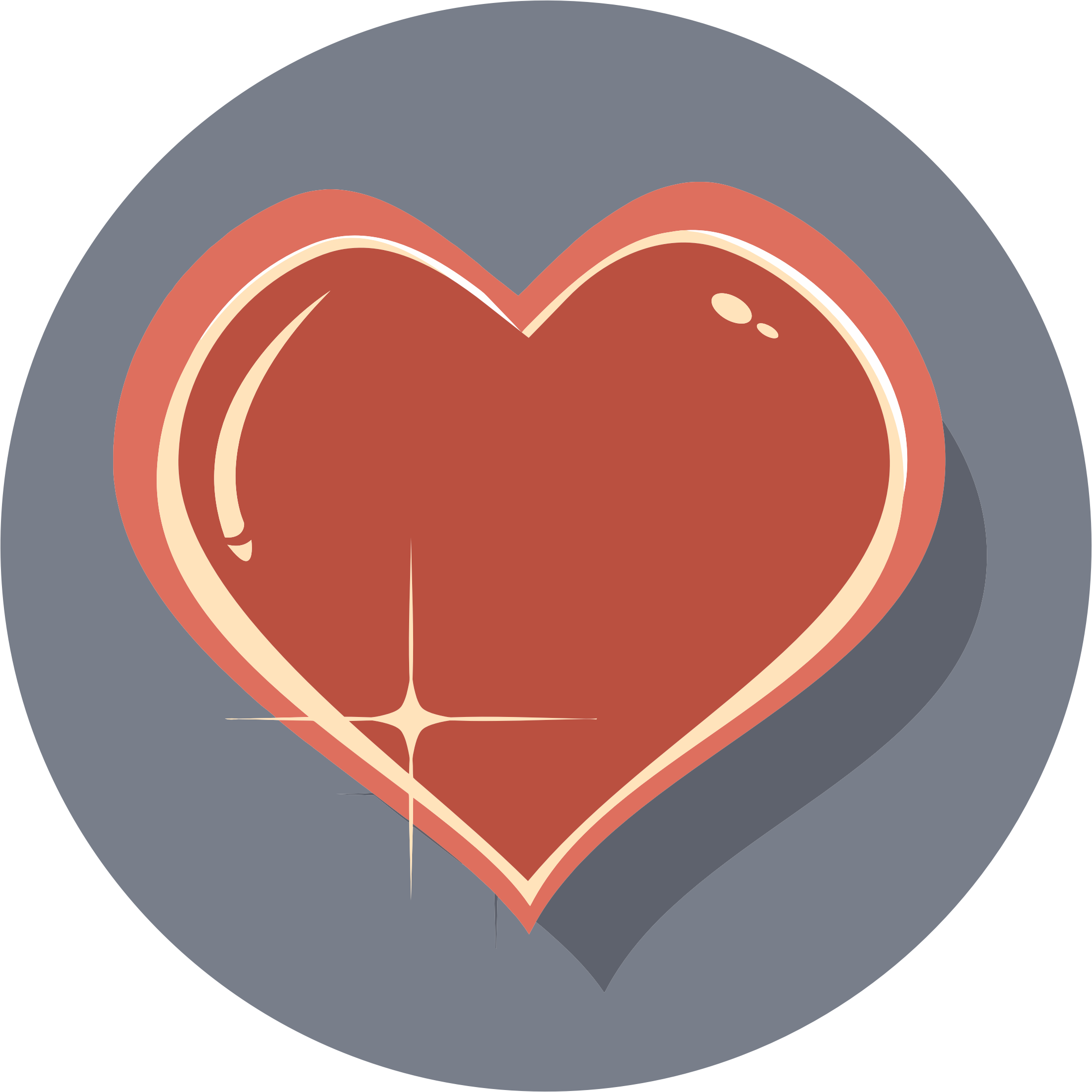 Shiny Heart Icon by GDJ