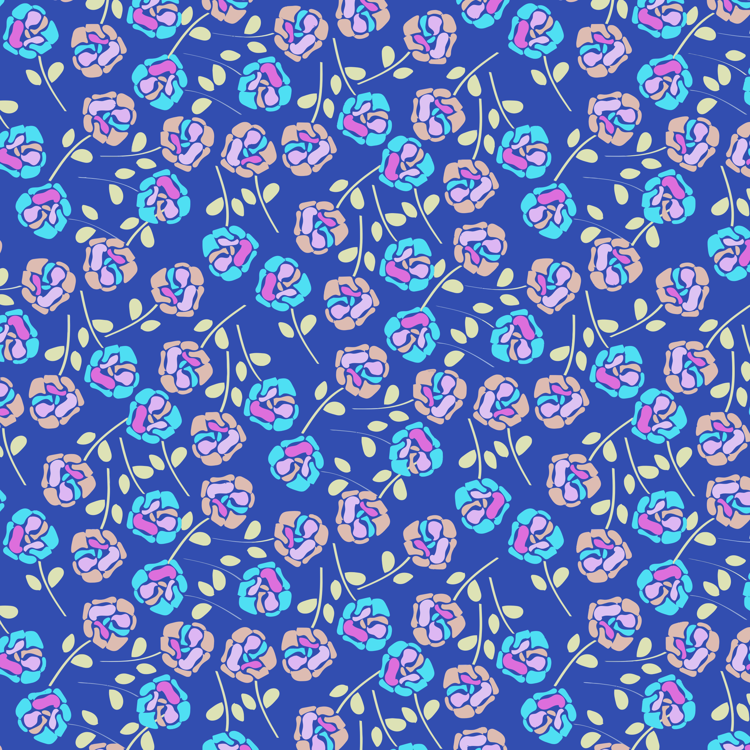 Seamless Floral Pattern 2 by GDJ