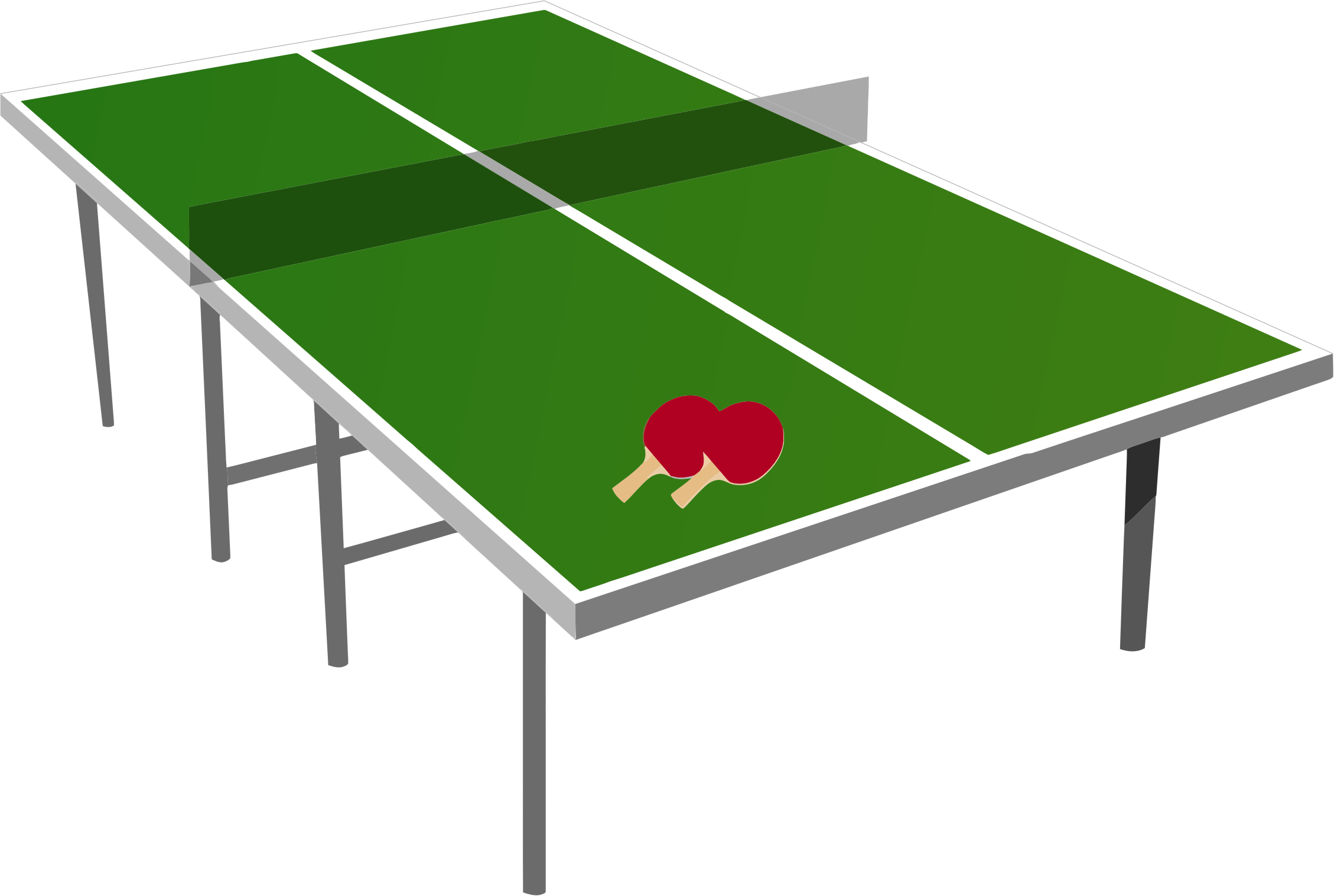 Isometric Ping Pong Table by GDJ