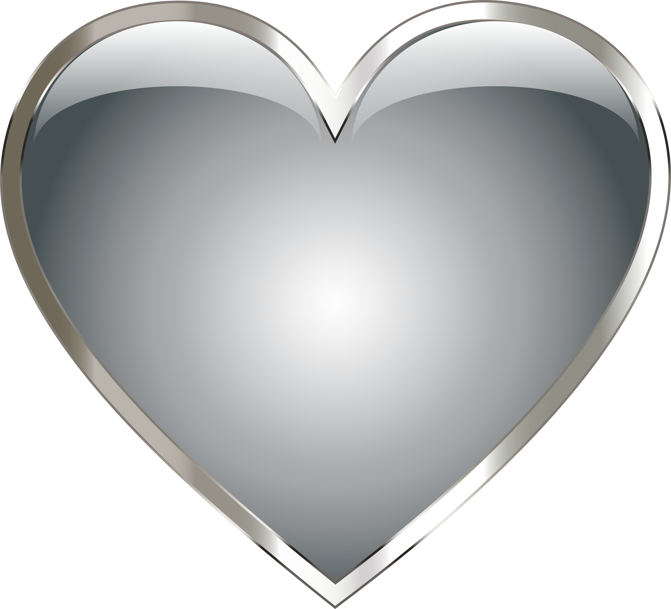 Stainless Steel Heart by GDJ