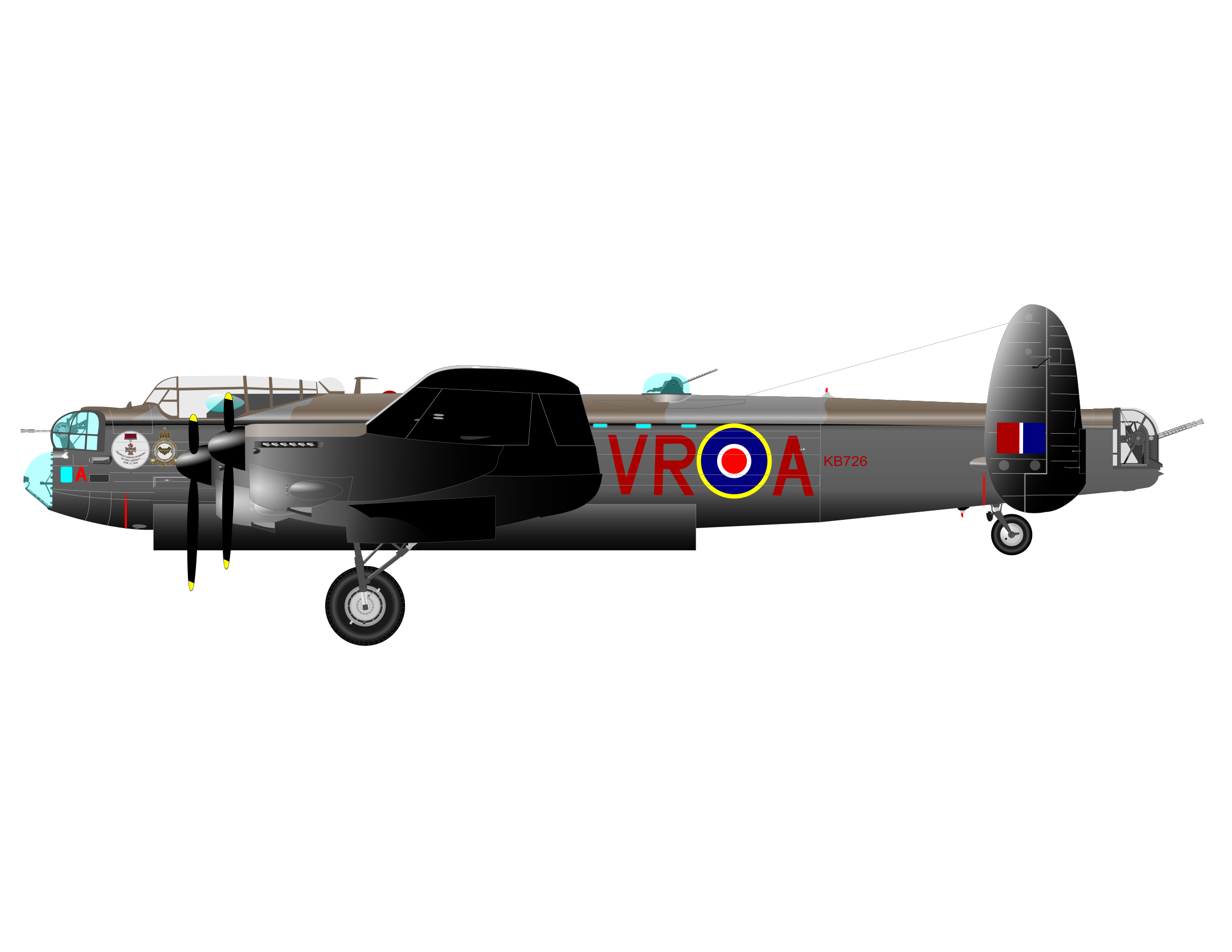 Avro Lancaster by charner1963