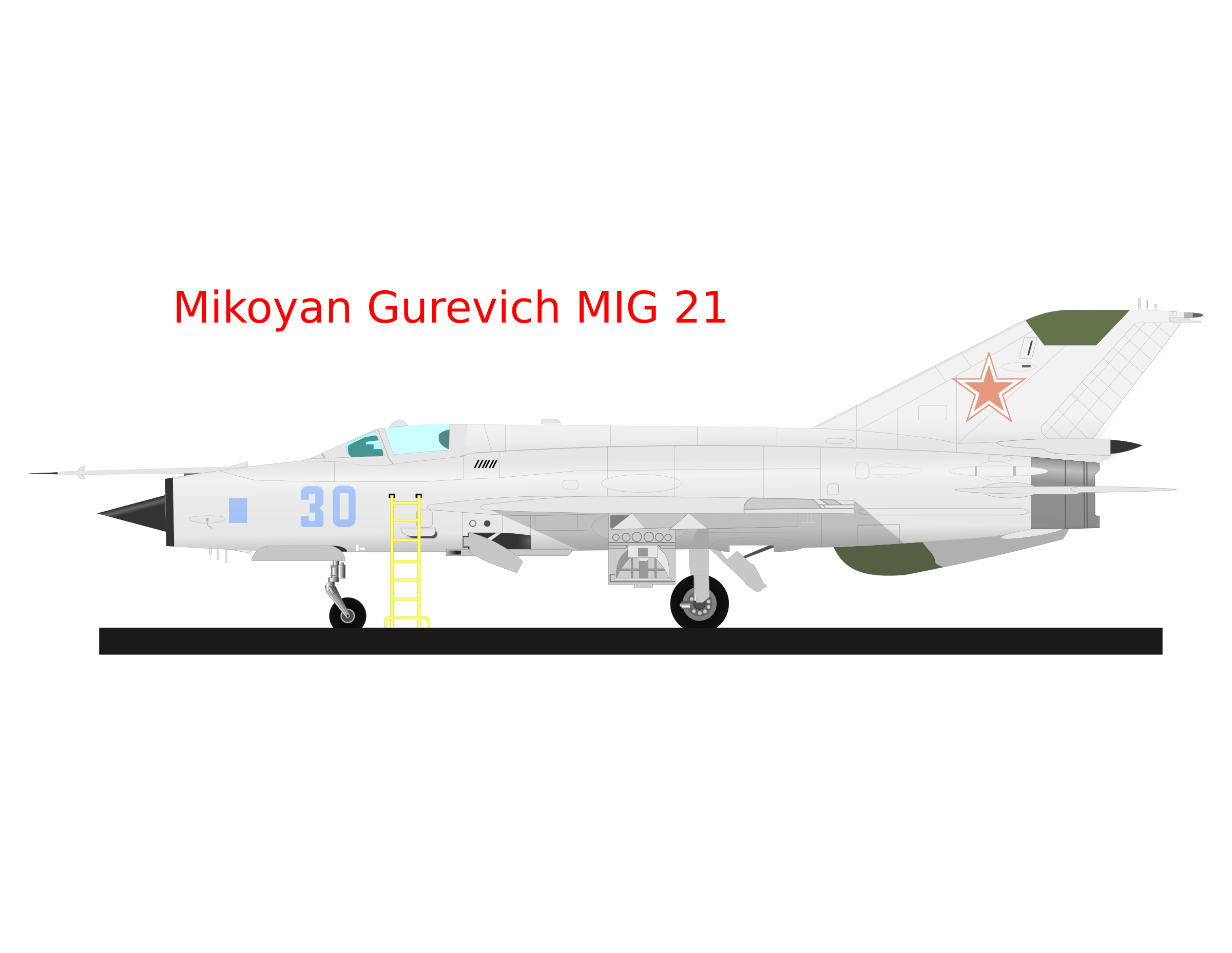 MIG 21 by charner1963