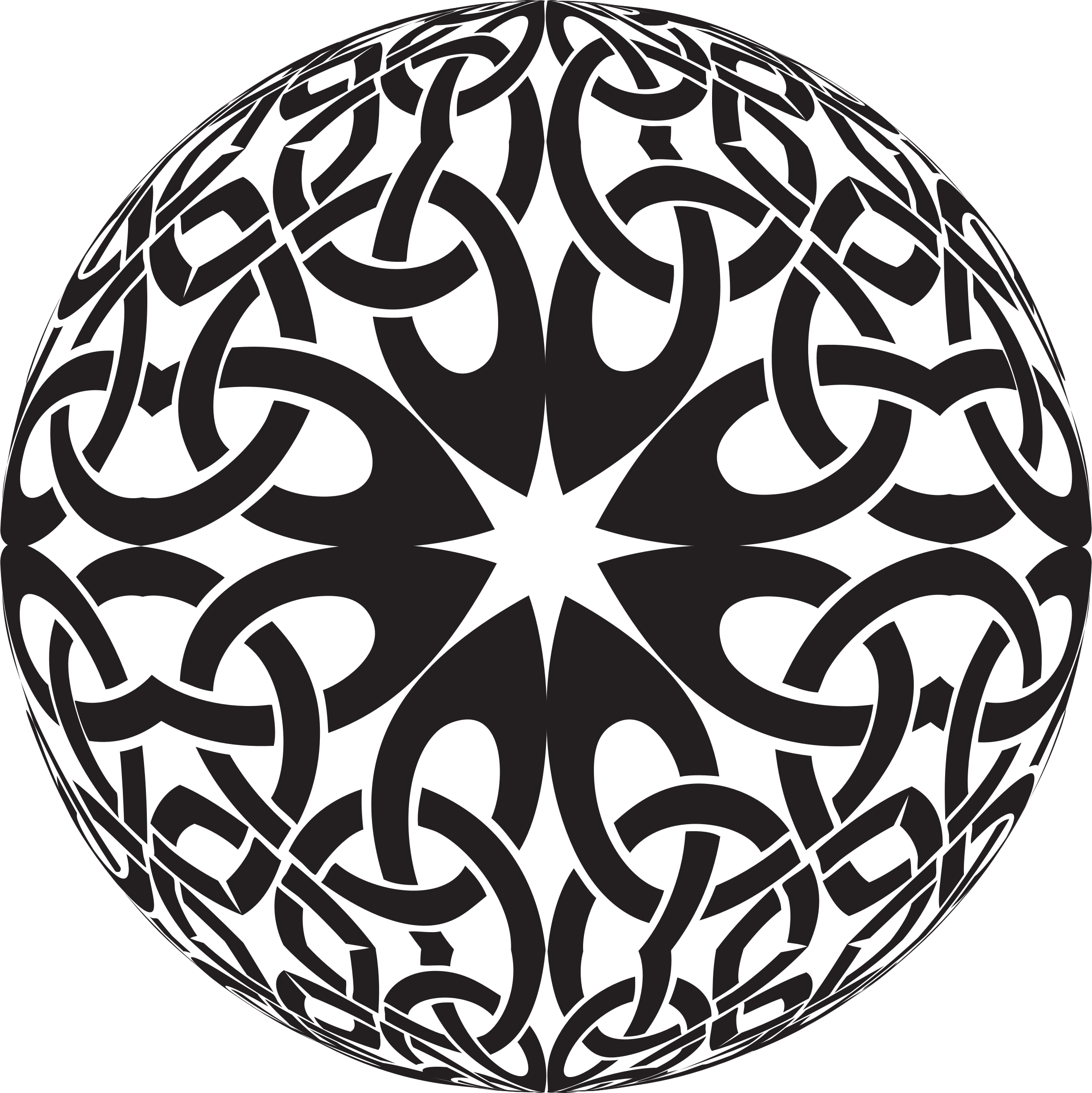 Celtic Knot Sphere by GDJ