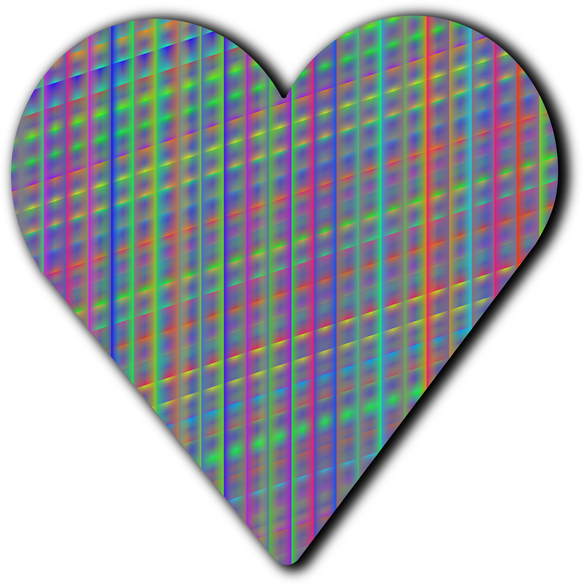 Patterned heart 4 by Firkin