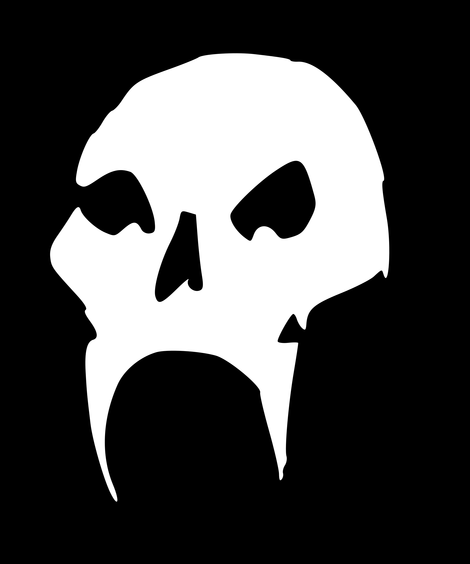 Strange skull by liftarn