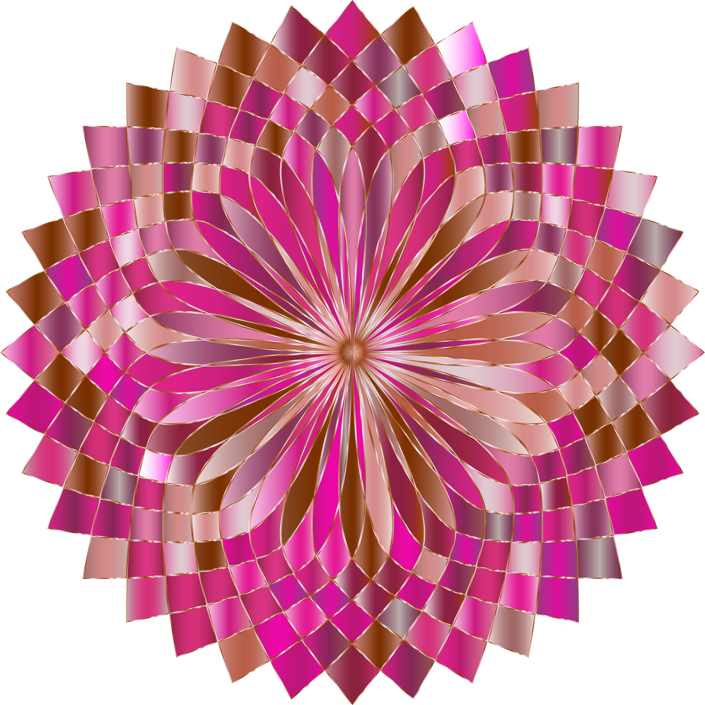 Prismatic Lotus Bloom 5 Variation 3 by GDJ