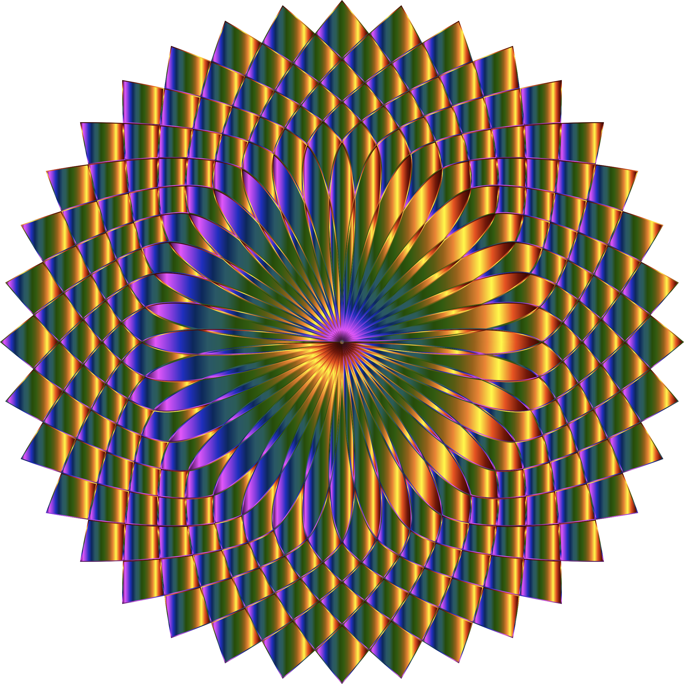 Prismatic Lotus Bloom 6 Variation 2 by GDJ