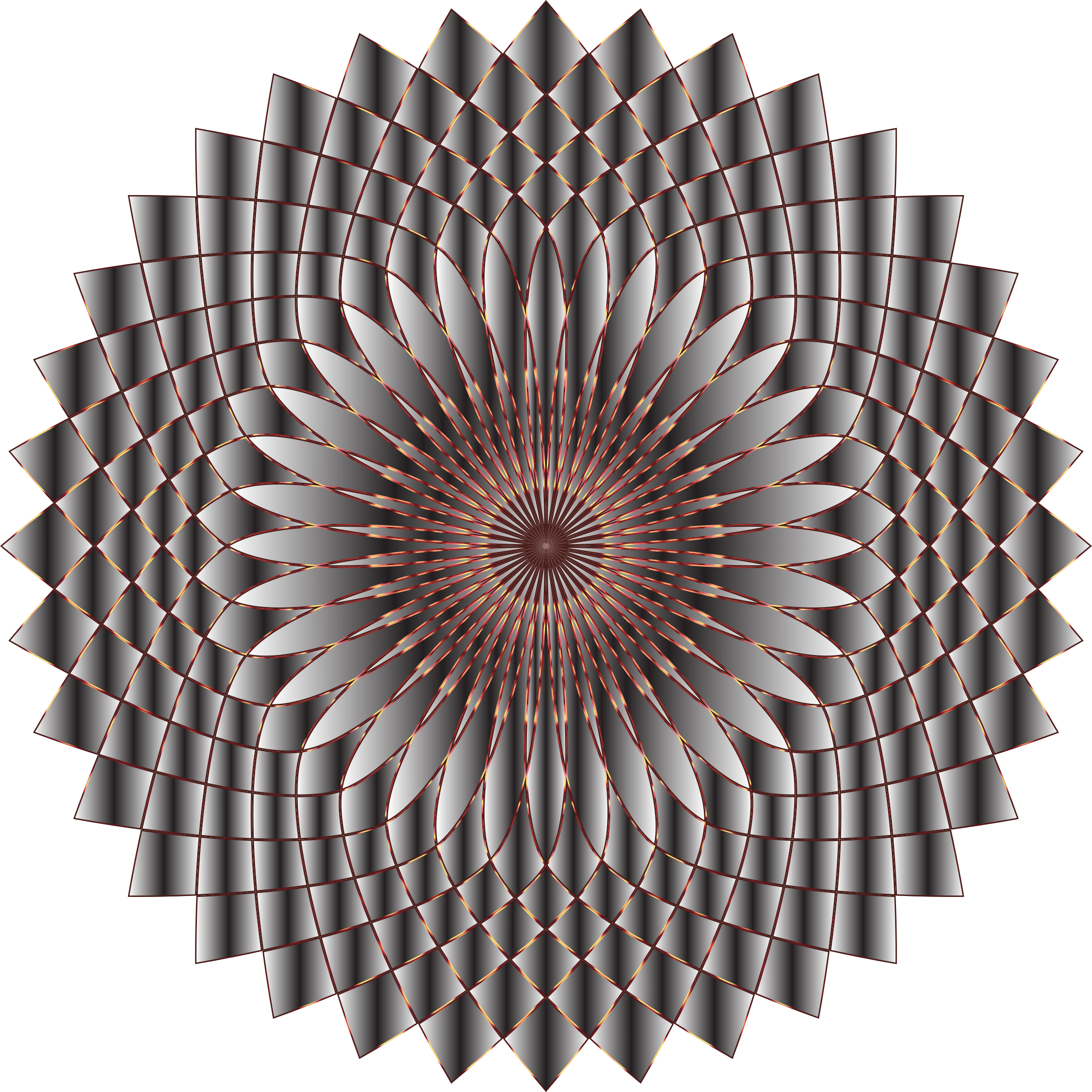 Prismatic Lotus Bloom 10 Variation 2 by GDJ