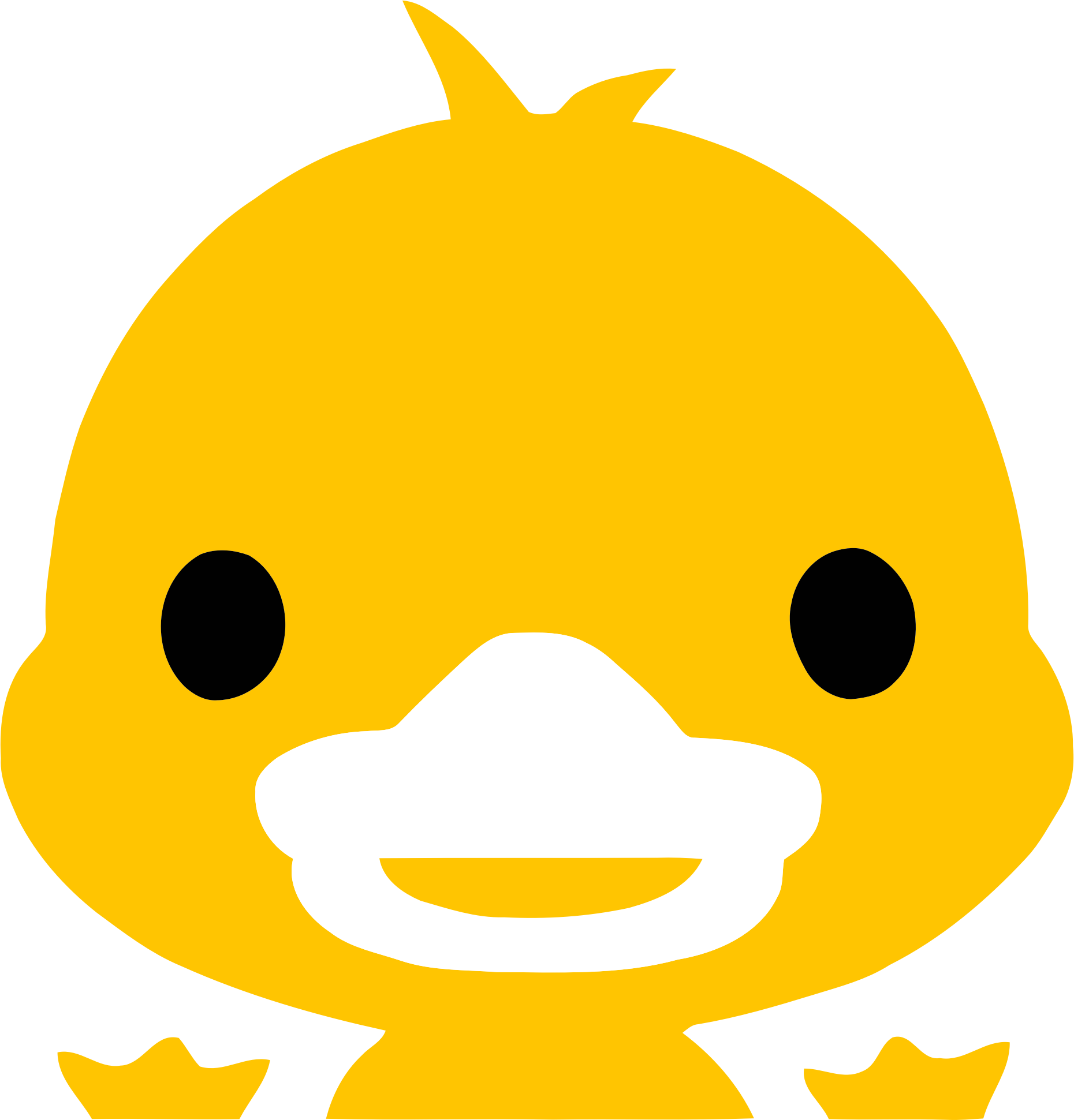 Yellow Duckling Icon by GDJ