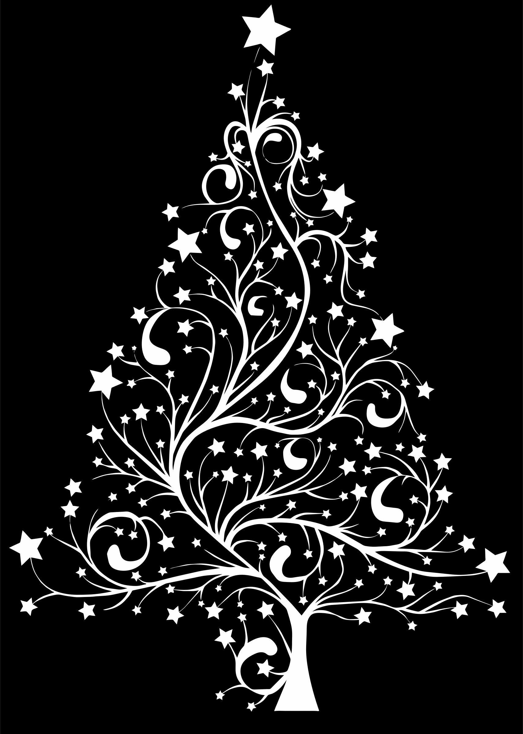 Starry Christmas Tree by GDJ