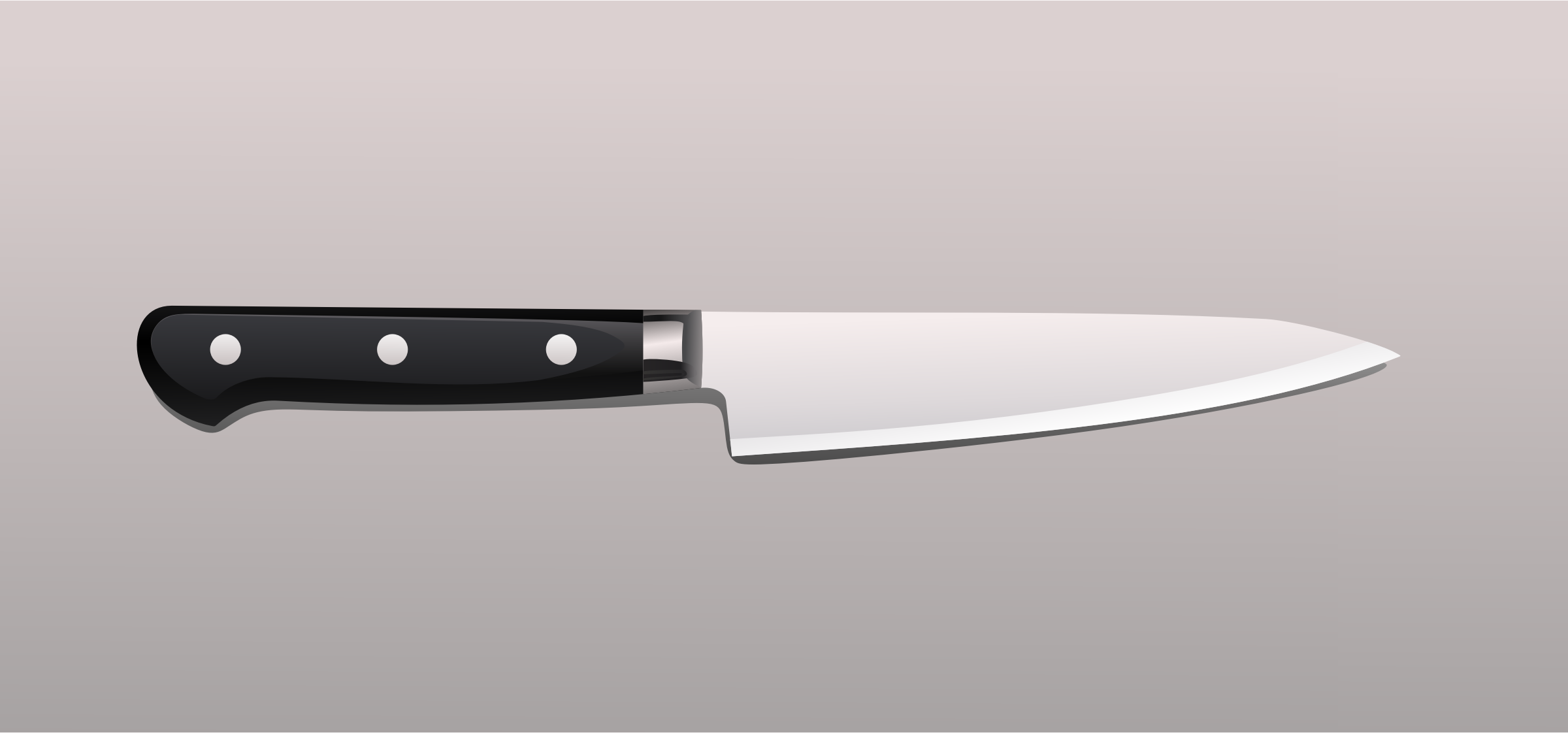 Realistic Kitchen Knife by GDJ