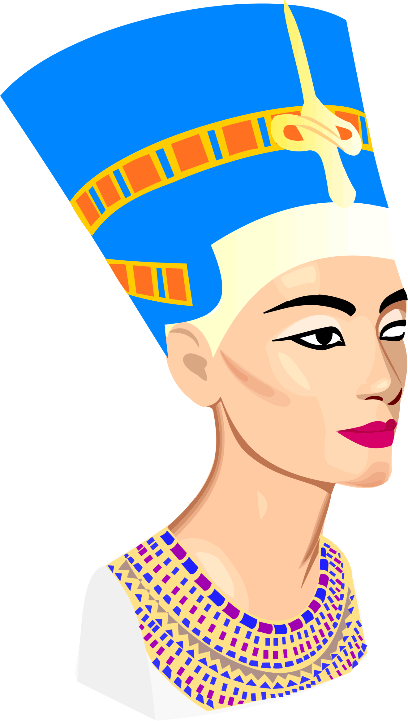 Nefertiti Portrait by GDJ